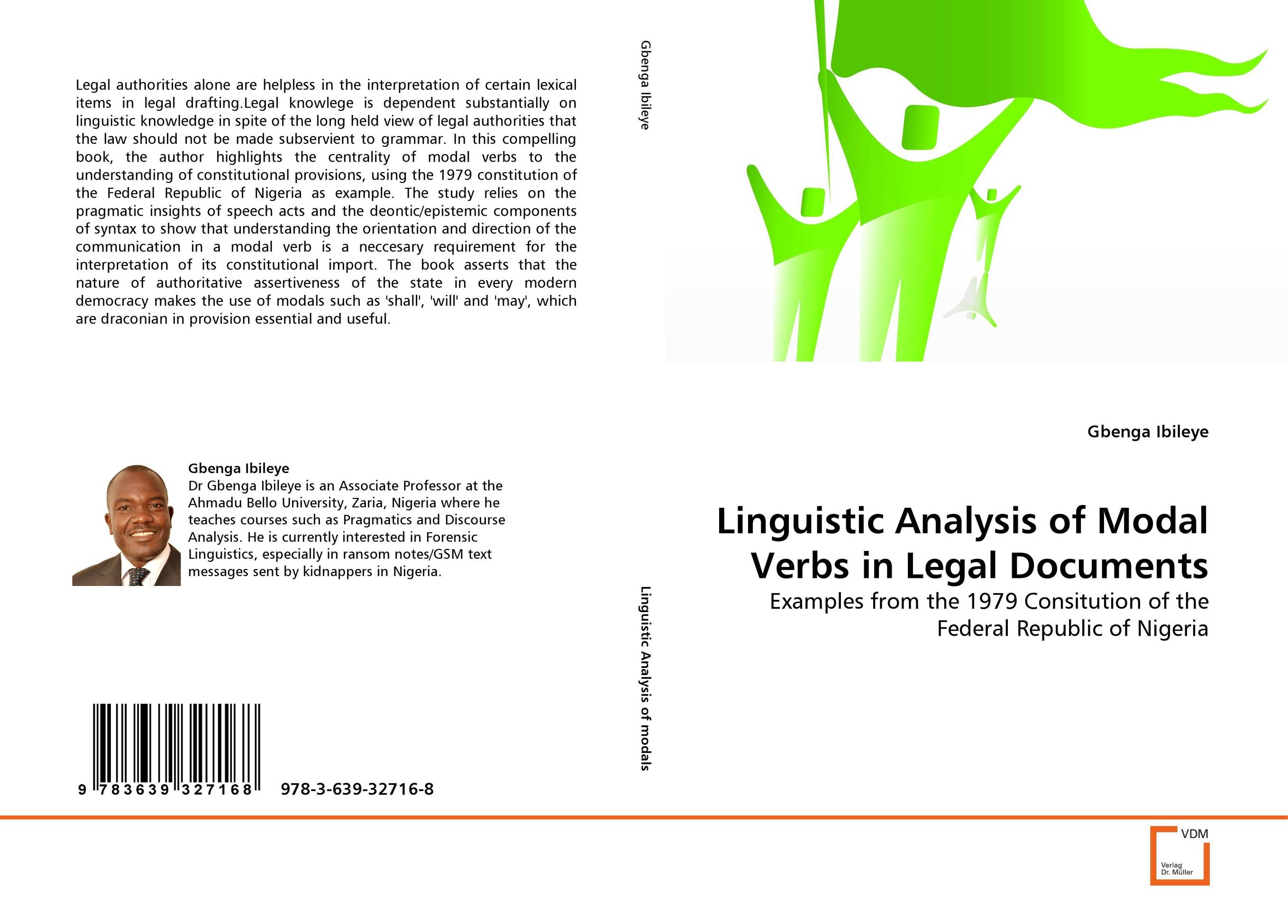 Linguistic Analysis of Modal Verbs in Legal Documents the analysis of management of schools