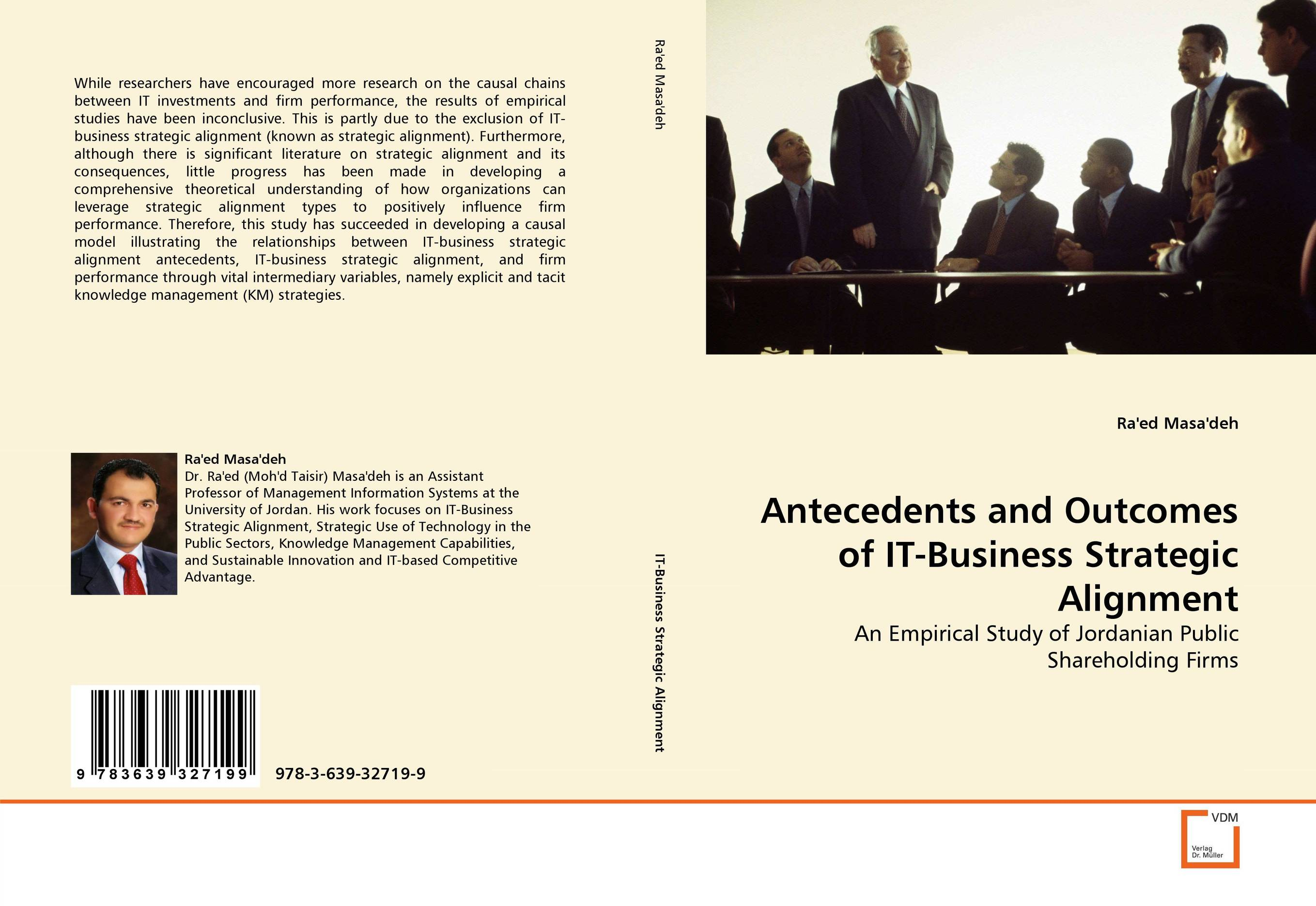 Фото Antecedents and Outcomes of IT-Business Strategic Alignment finance and investments