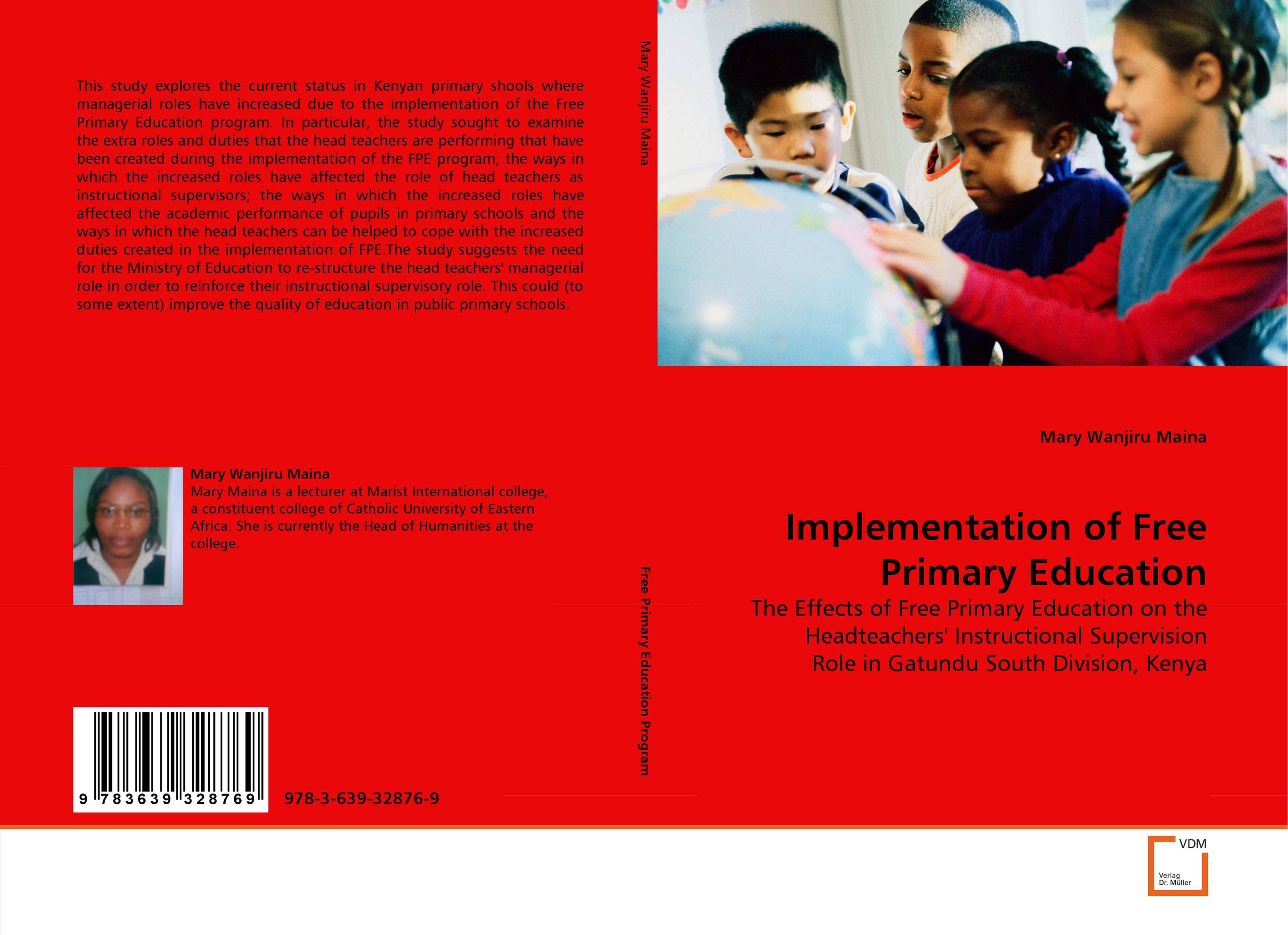 Implementation of Free Primary Education female head teachers administrative challenges in schools in kenya