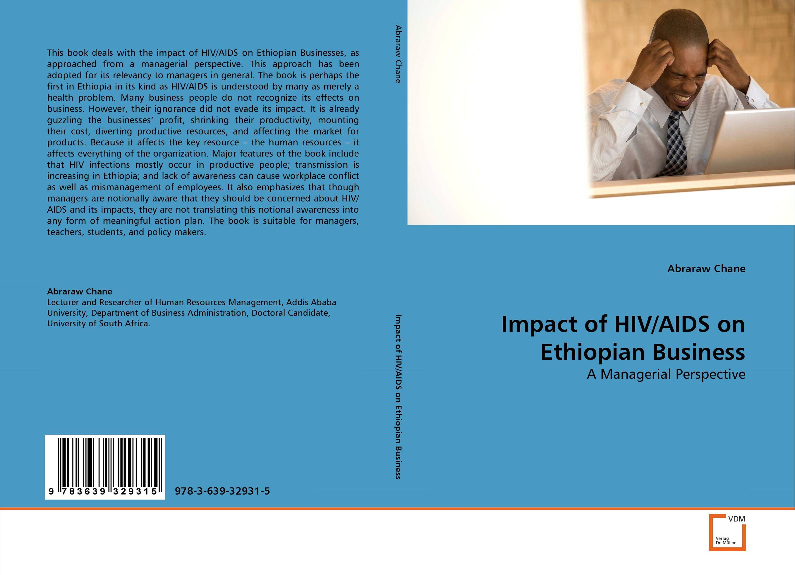 Impact of HIV/AIDS on Ethiopian Business illness as metaphor and aids and its metaphors