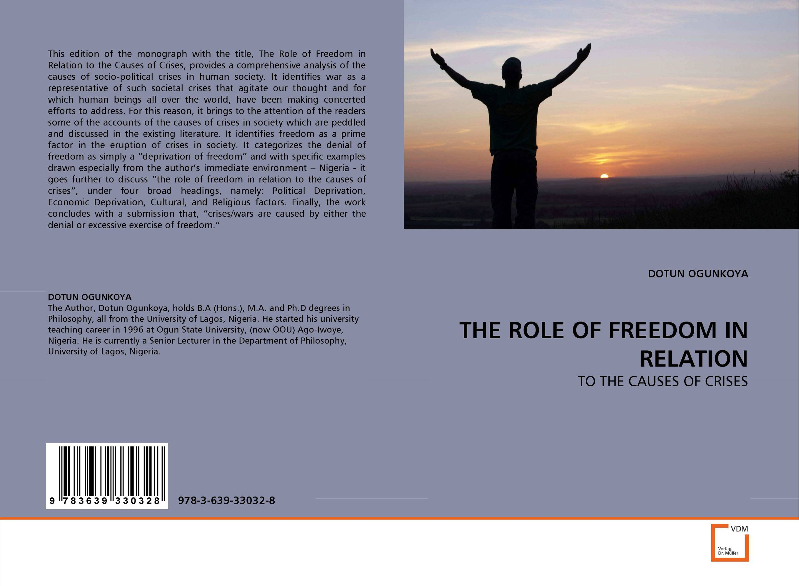 THE ROLE OF FREEDOM IN RELATION the submission