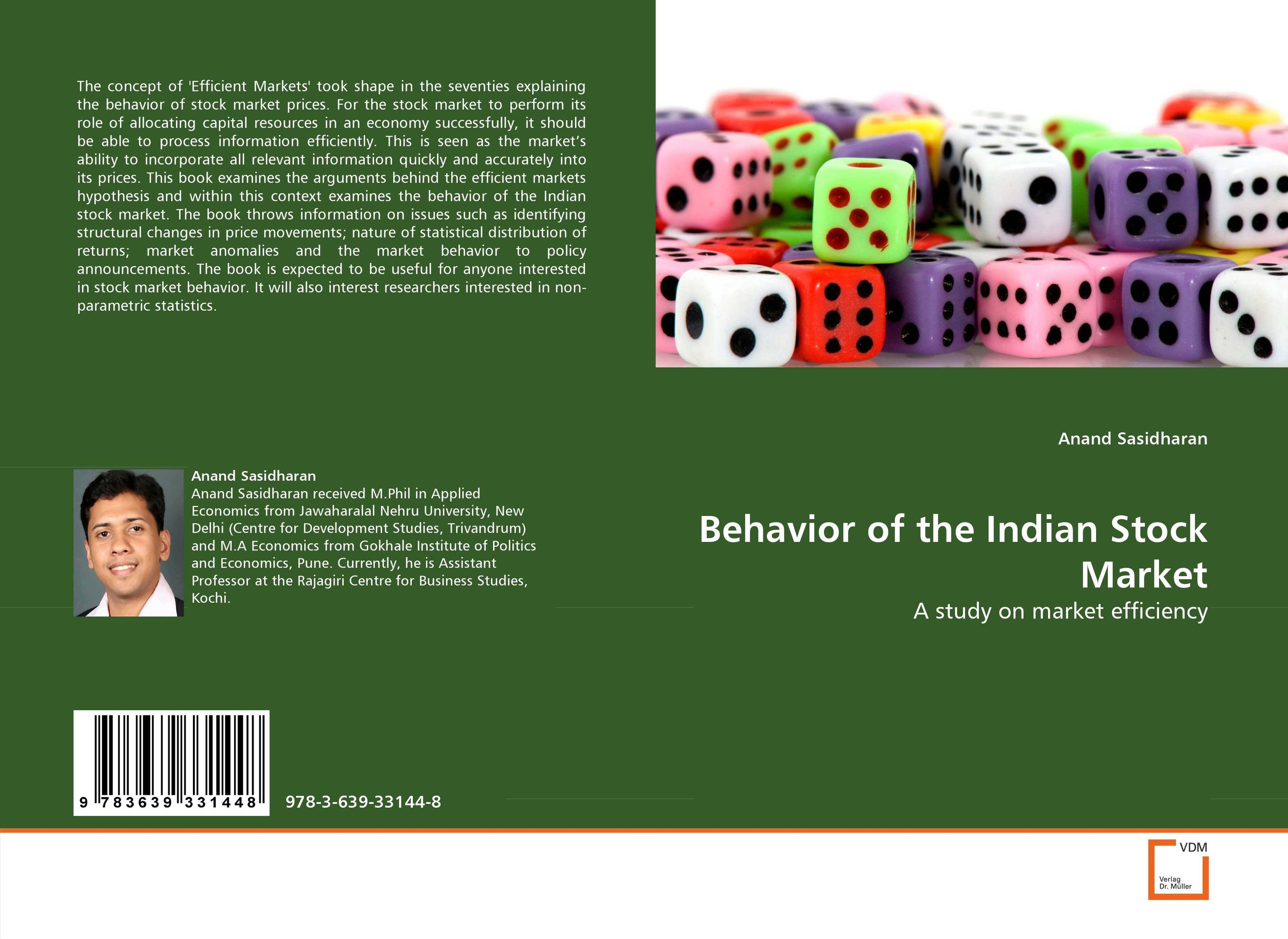 Behavior of the Indian Stock Market hans hedin the handbook of market intelligence understand compete and grow in global markets