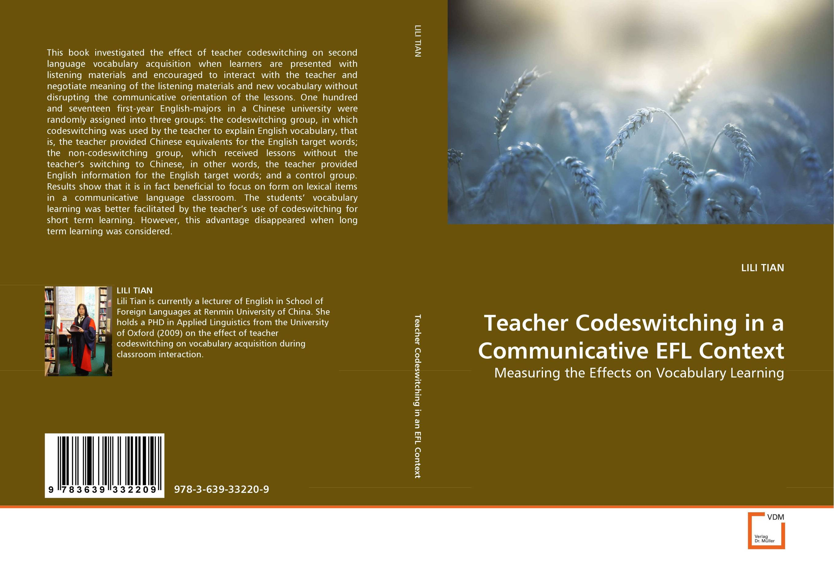 Teacher Codeswitching in a Communicative EFL Context teacher s use of english coursebooks with primary school learners