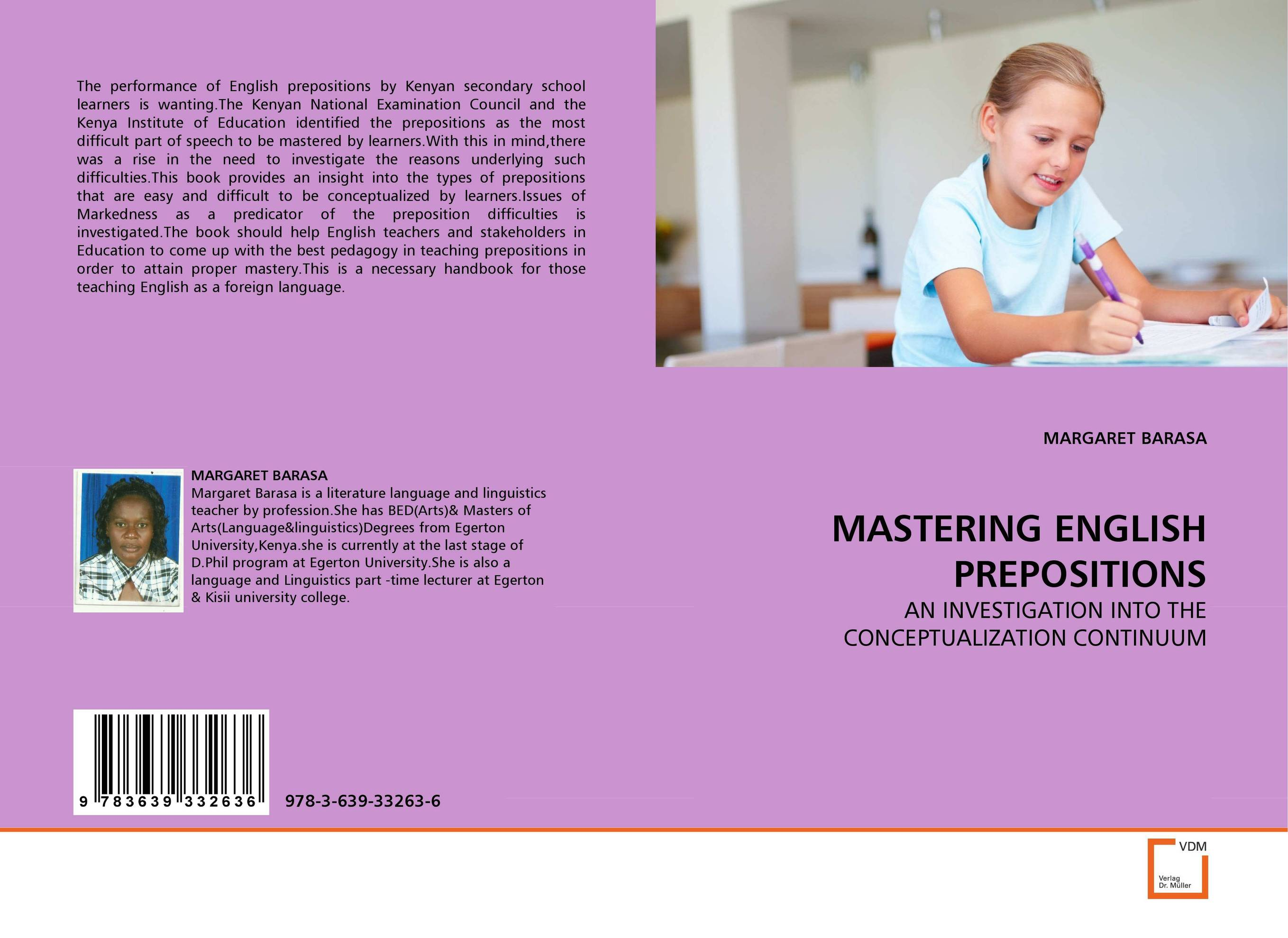 MASTERING ENGLISH PREPOSITIONS inclusive education in kenya perspectives of special educators