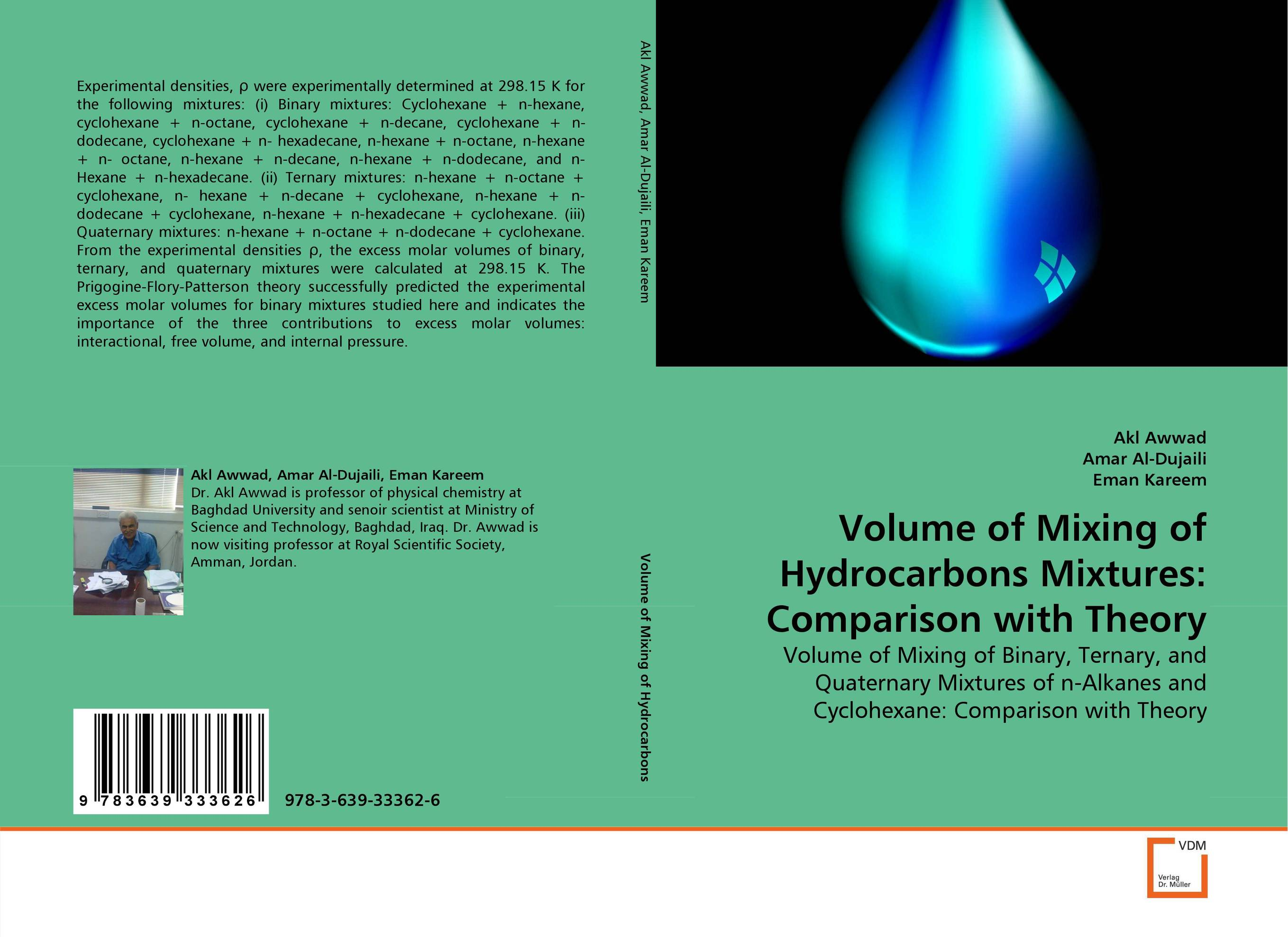 Volume of Mixing of Hydrocarbons Mixtures: Comparison with Theory