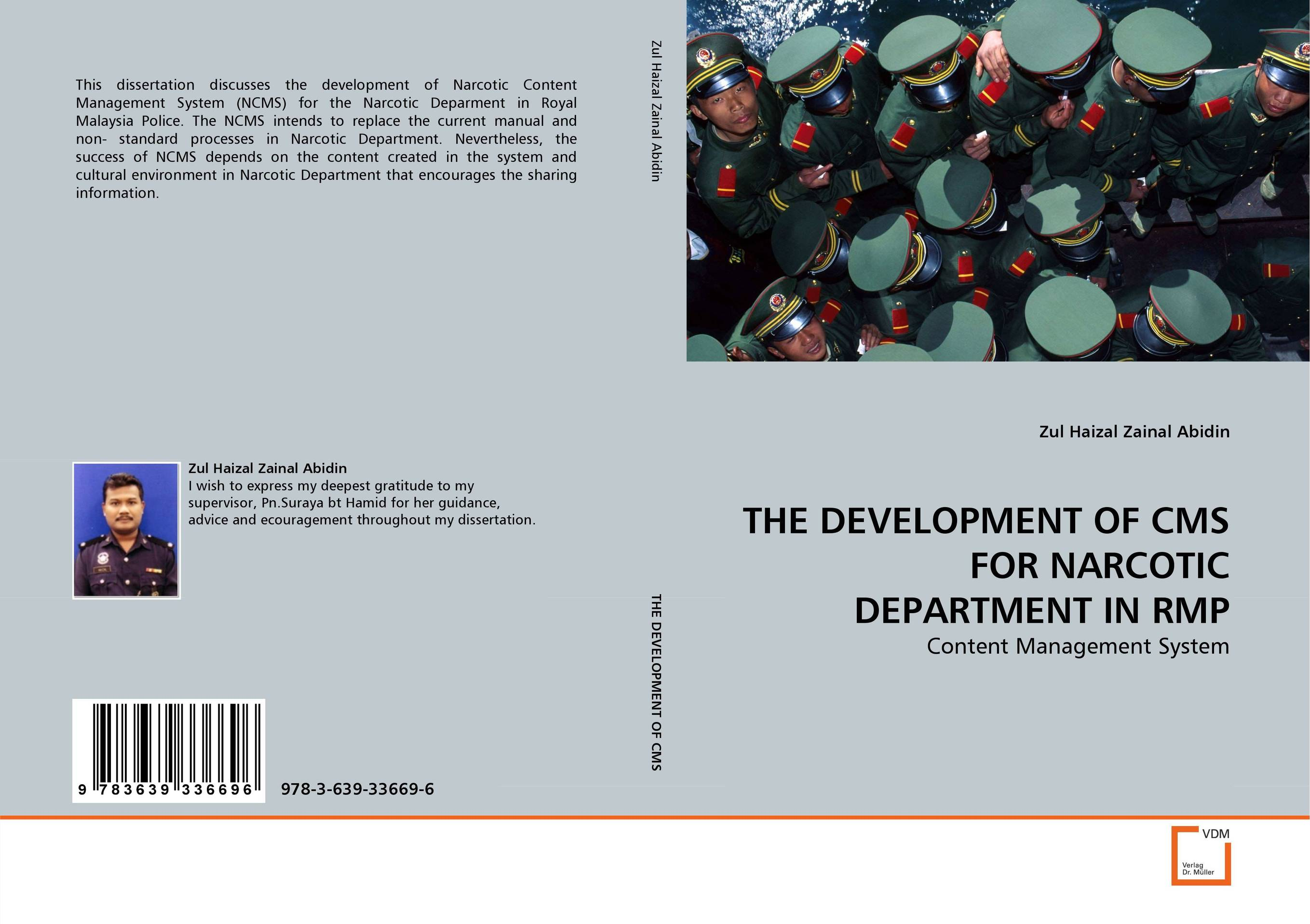 THE DEVELOPMENT OF CMS FOR NARCOTIC DEPARTMENT IN RMP