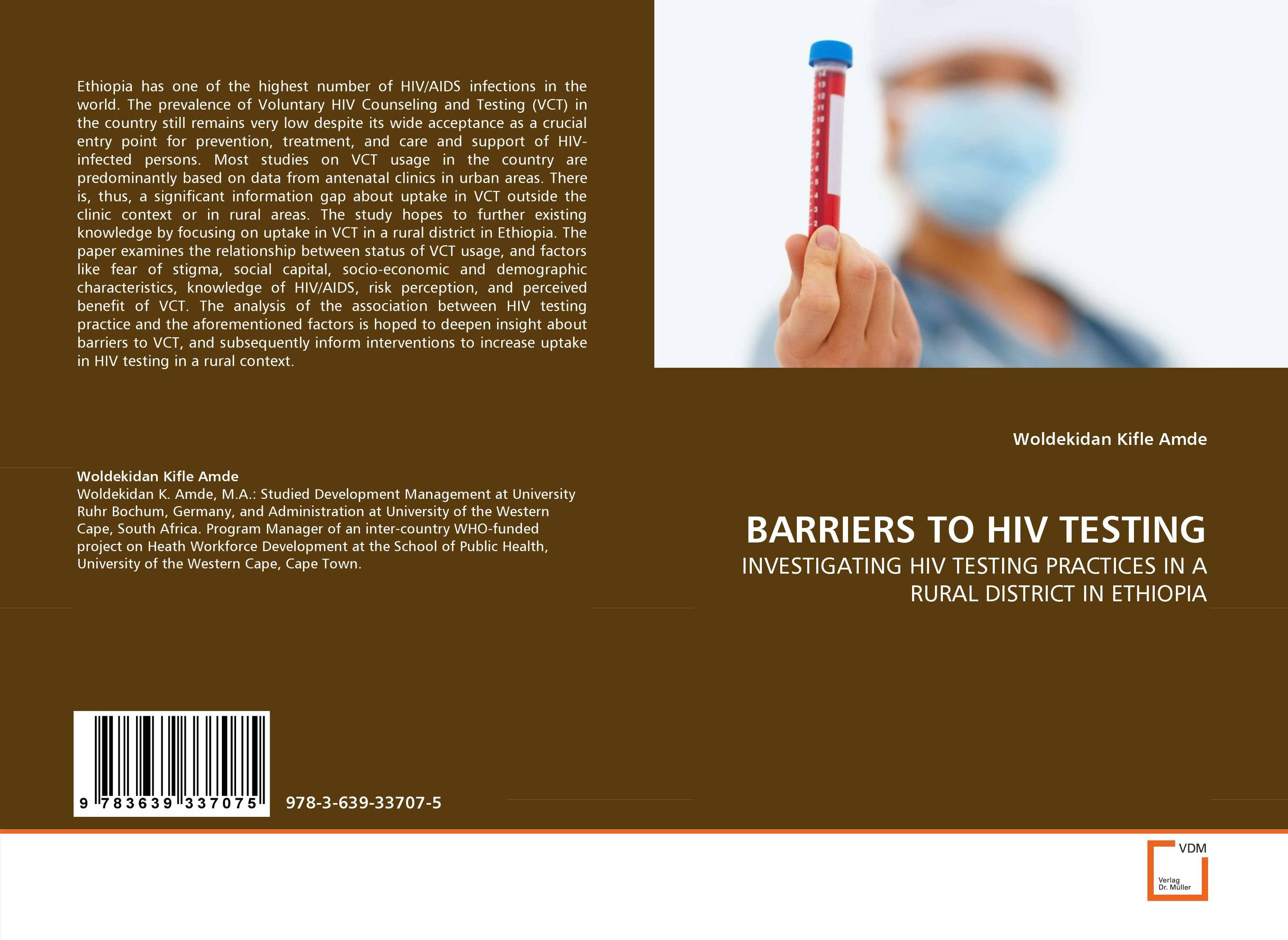 BARRIERS TO HIV TESTING prostate screening motivating factors and barriers