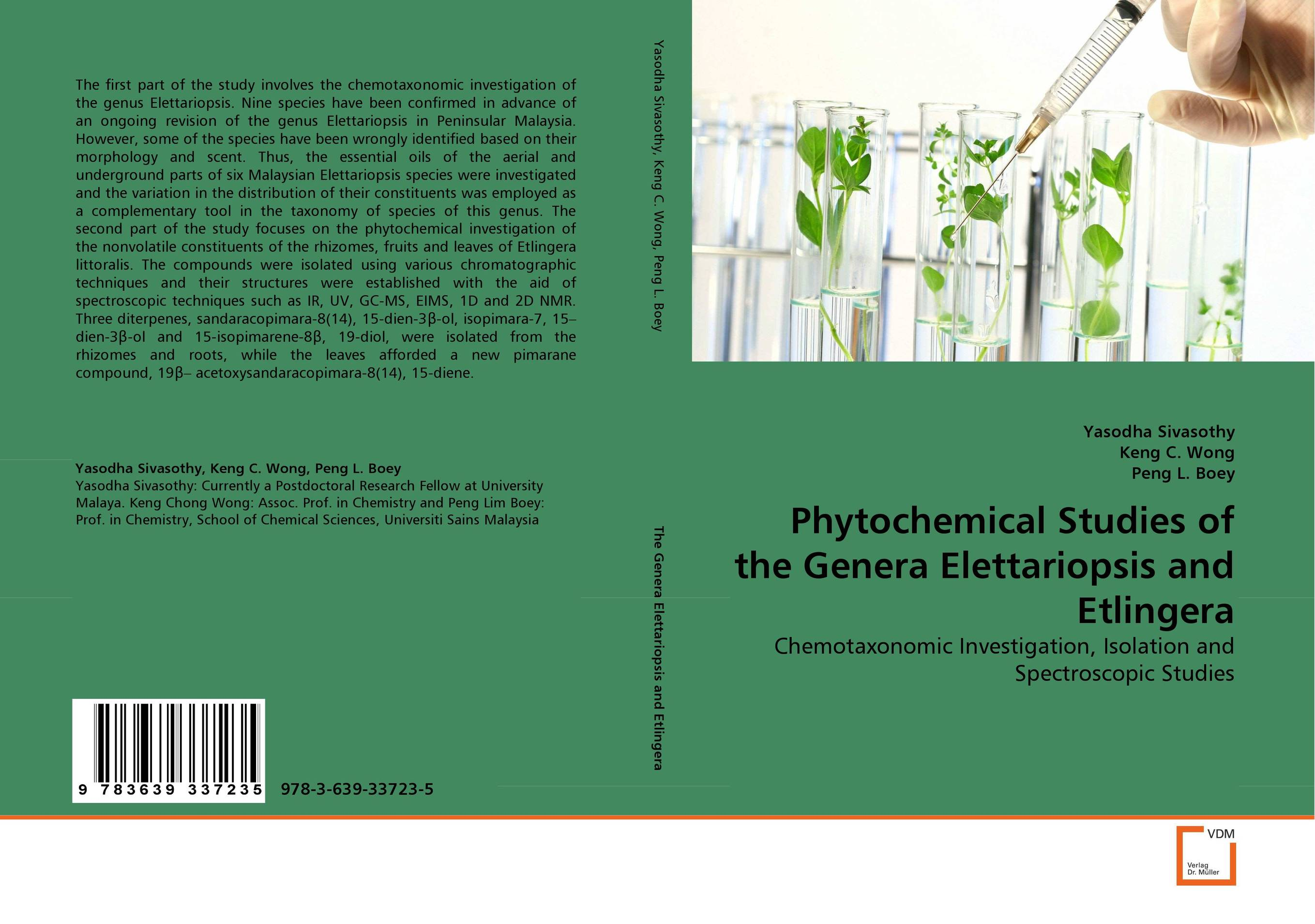 Phytochemical Studies of the Genera Elettariopsis and Etlingera md rabiul islam s m ibrahim sumon and farhana lipi phytochemical evaluation of leaves of cymbopogan citratus