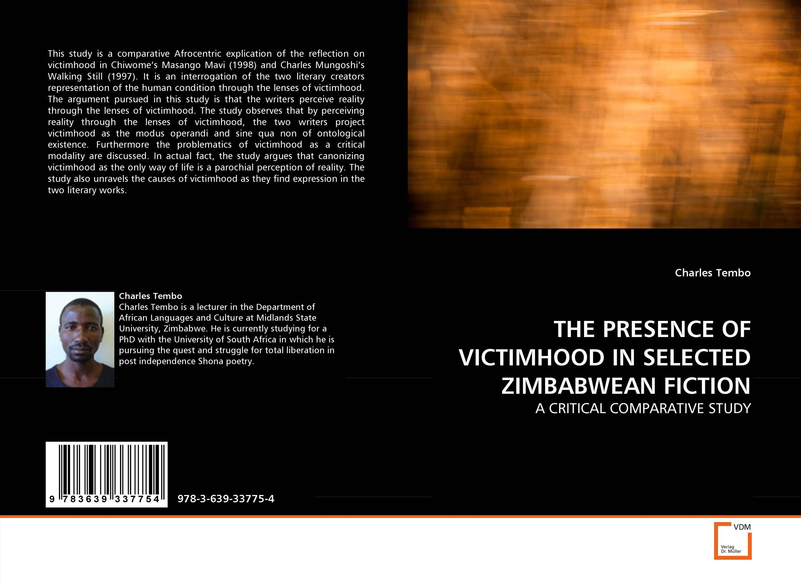 THE PRESENCE OF VICTIMHOOD IN SELECTED ZIMBABWEAN FICTION пальто mavi mavi ma008ewvvu45