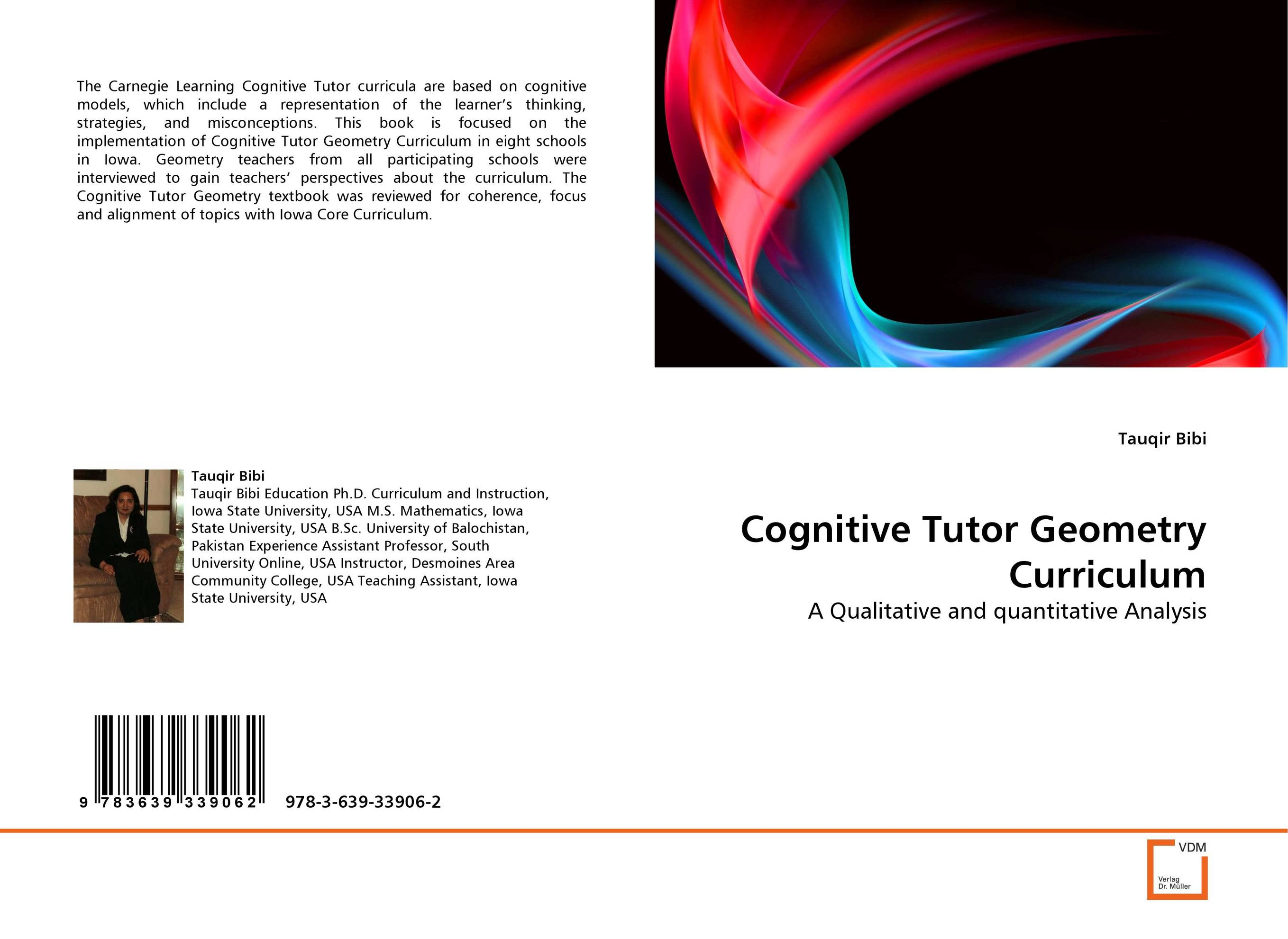 Cognitive Tutor Geometry Curriculum cognitive mechanisms and individual strategies