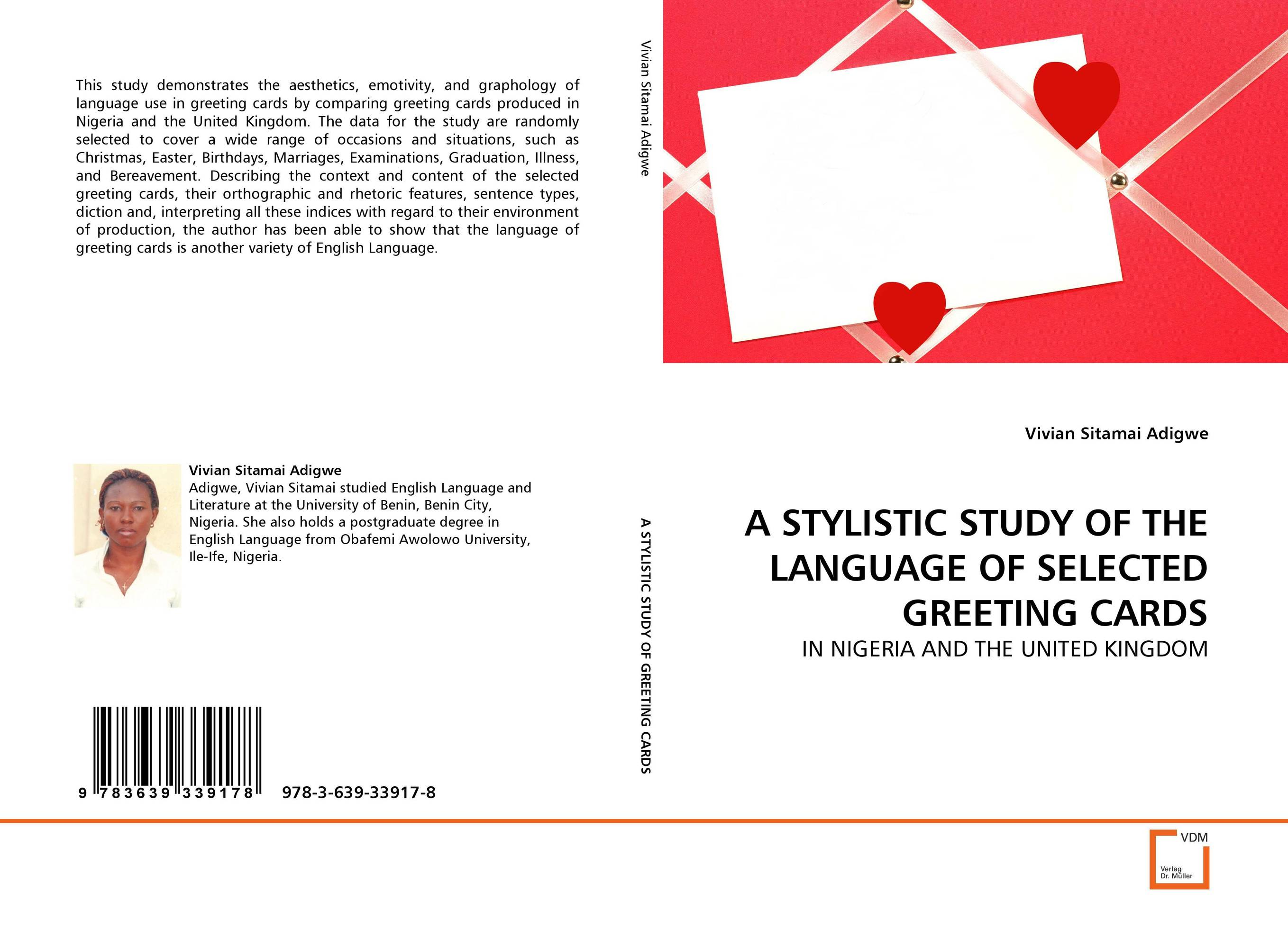 A STYLISTIC STUDY OF THE LANGUAGE OF SELECTED GREETING CARDS e hutchins culture and inference – a trobriand case study