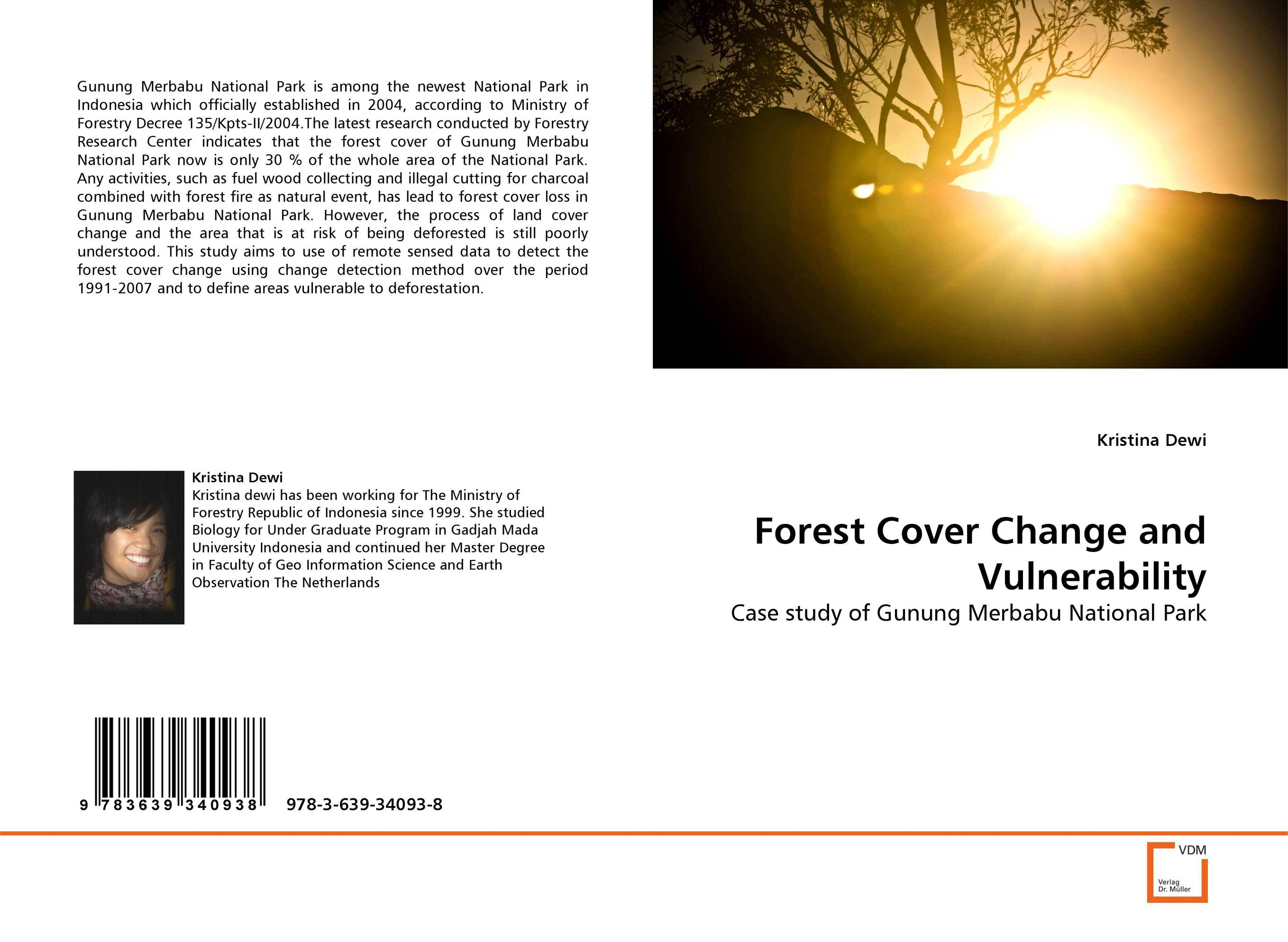 Forest Cover Change and Vulnerability national park architecture source
