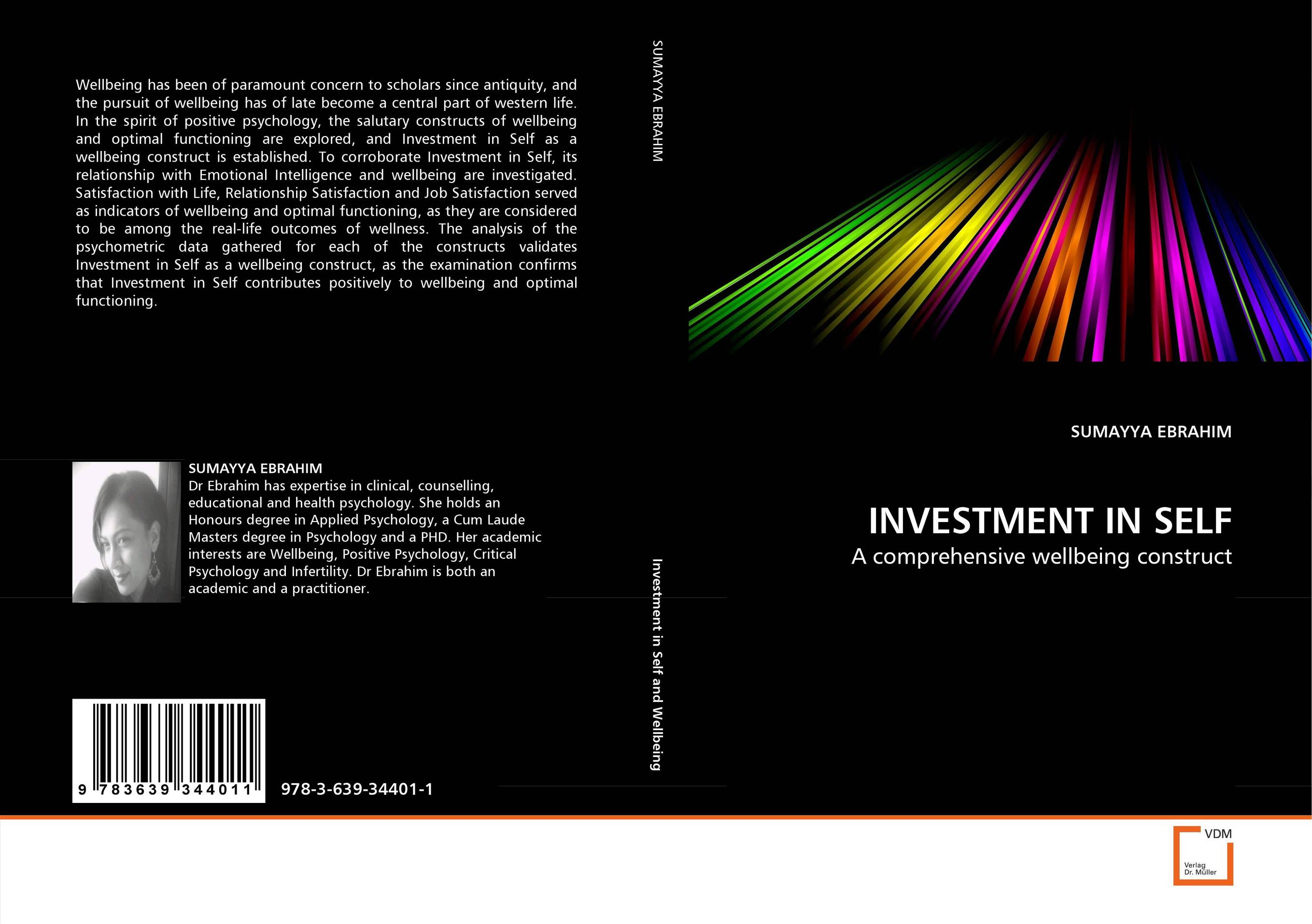 INVESTMENT IN SELF charles p chen and tatijana busic optimal life careers