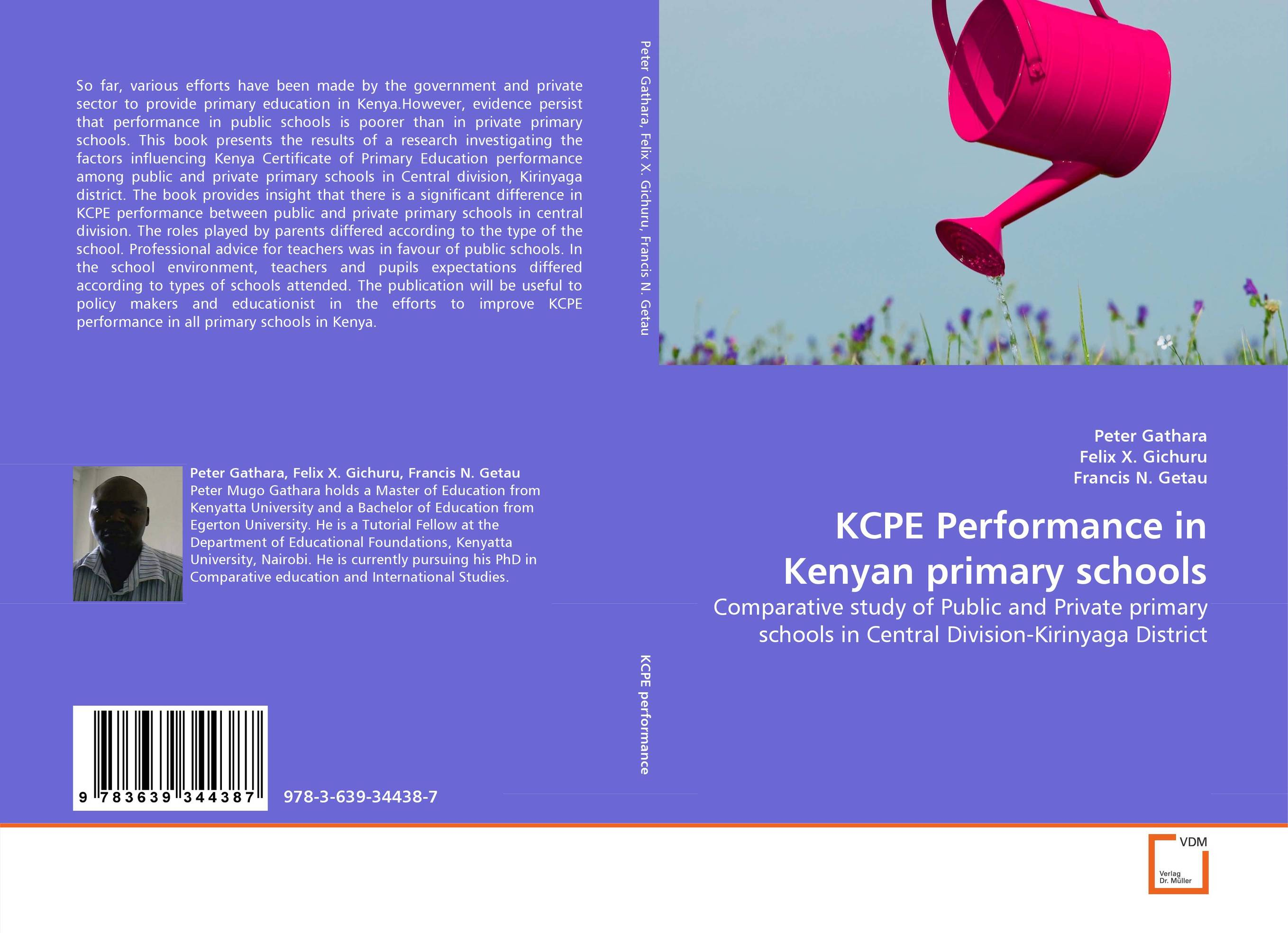 KCPE Performance in Kenyan primary schools factors influencing girls performance in tanzanian community schools