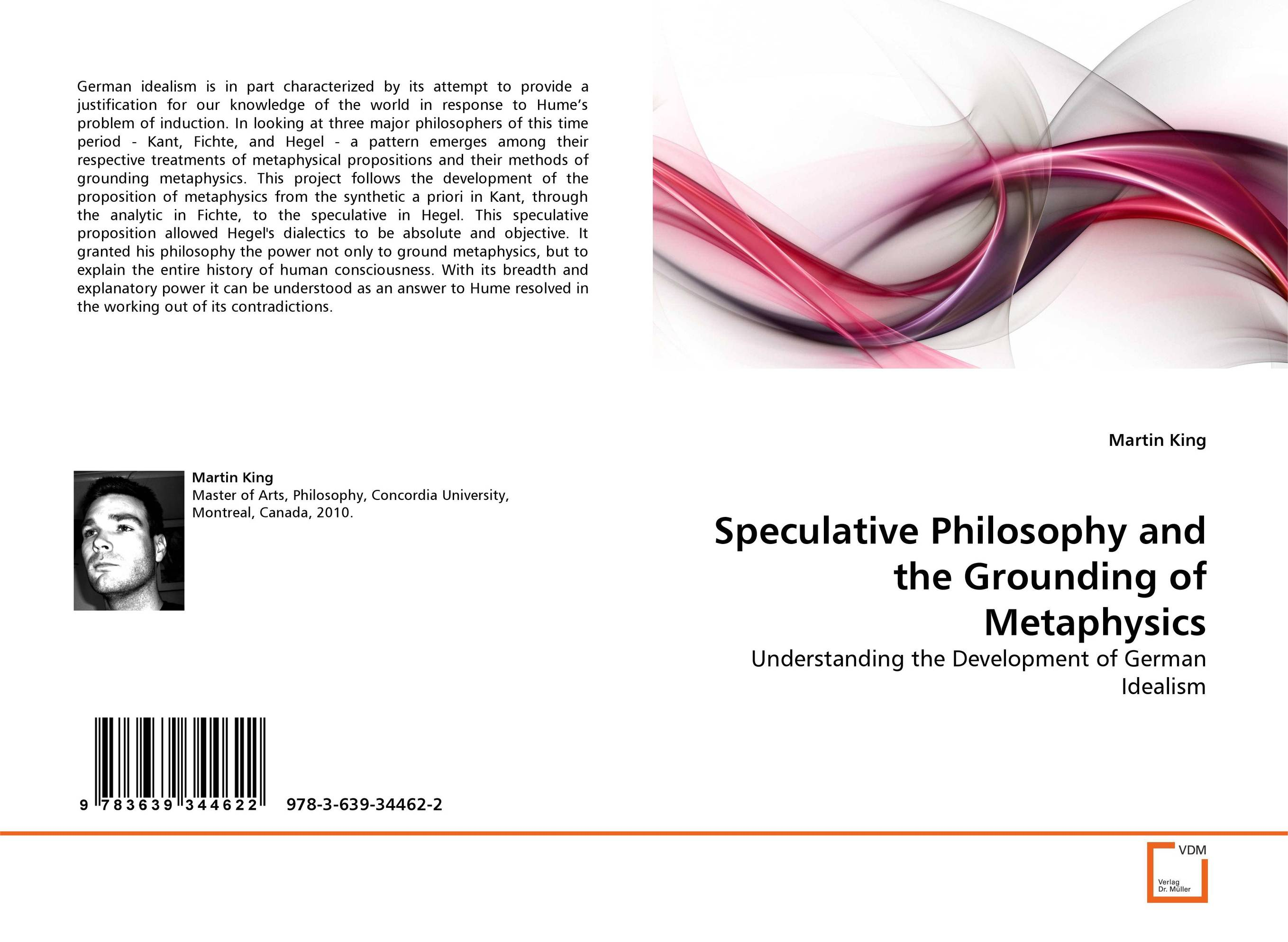 Speculative Philosophy and the Grounding of Metaphysics the metaphysics of logic