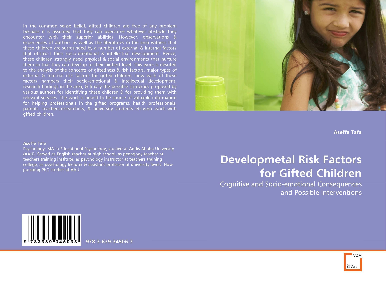 Developmetal Risk Factors for Gifted Children hormones risk factors for gynecological cancers in albanian women