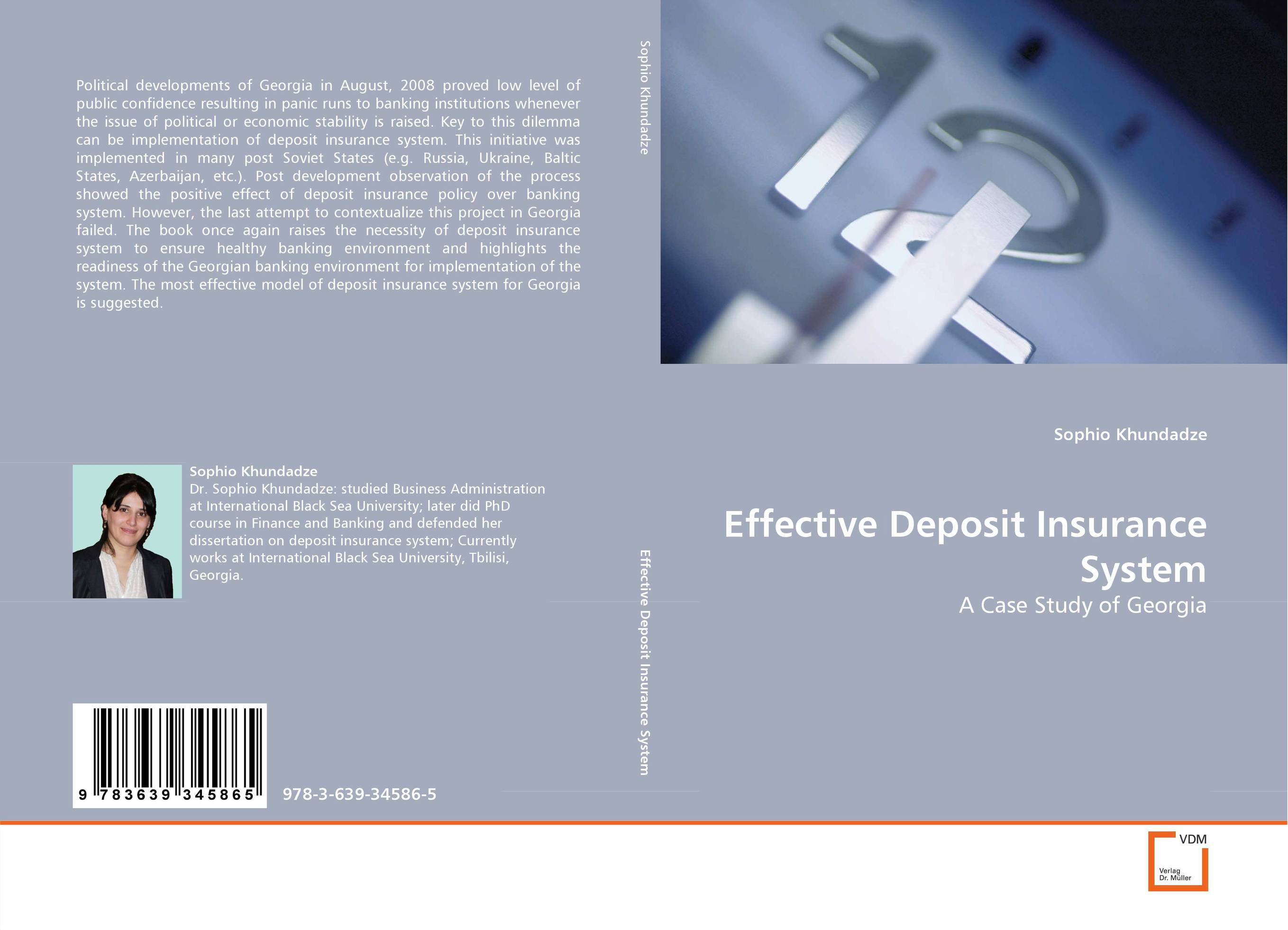 Effective Deposit Insurance System lindita mukli reformation of the health insurance system in albania