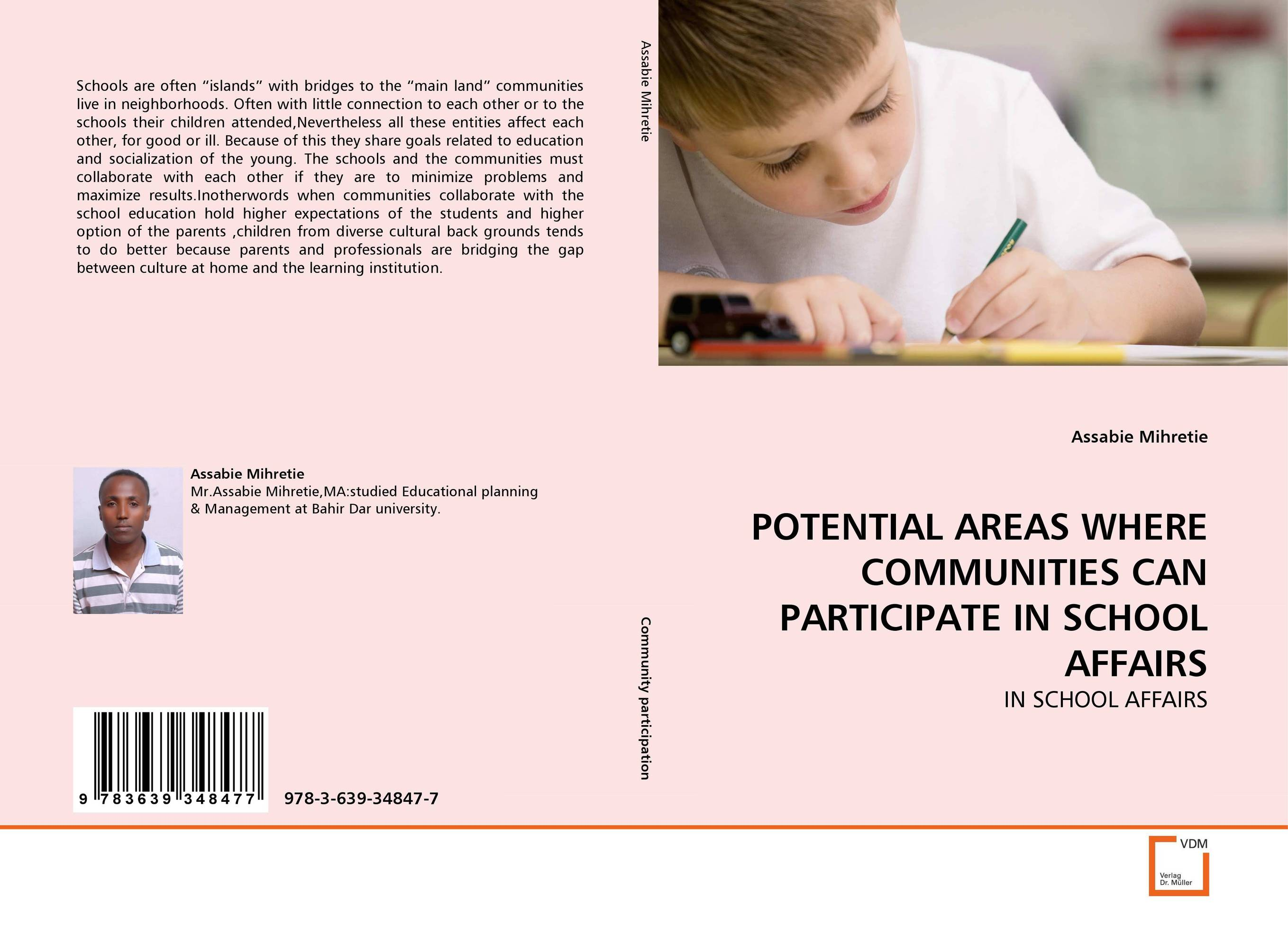 POTENTIAL AREAS WHERE COMMUNITIES CAN PARTICIPATE IN SCHOOL AFFAIRS public parks – the key to livable communities