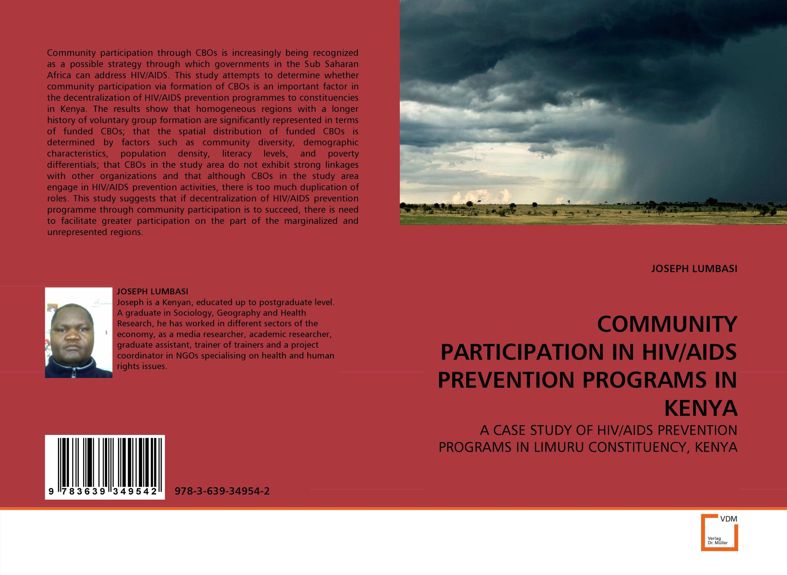 COMMUNITY PARTICIPATION IN HIV/AIDS PREVENTION PROGRAMS IN KENYA an overview on hiv aids