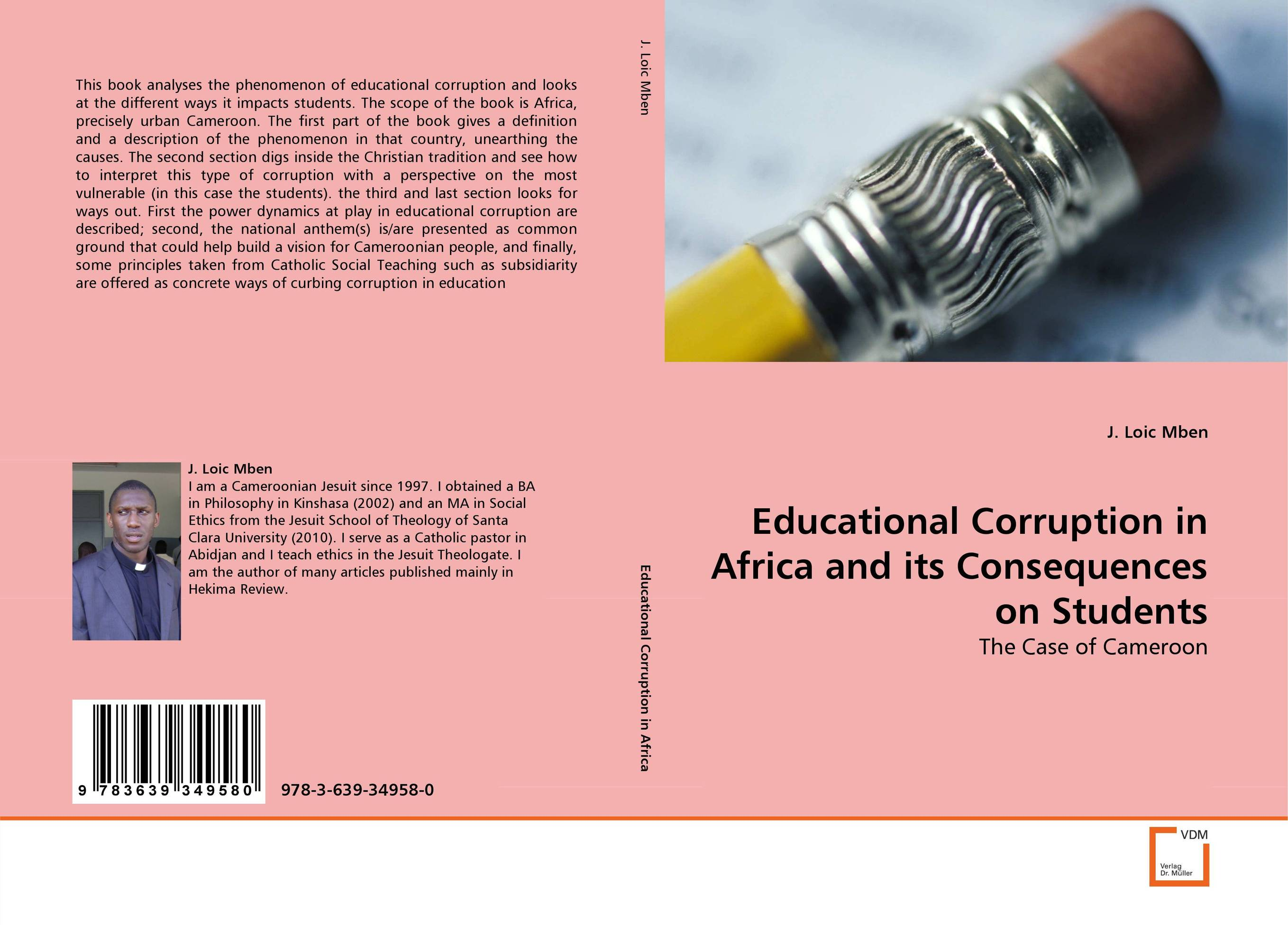 Educational Corruption in Africa and its Consequences on Students ways of curbing tax evasion in zimbabwe