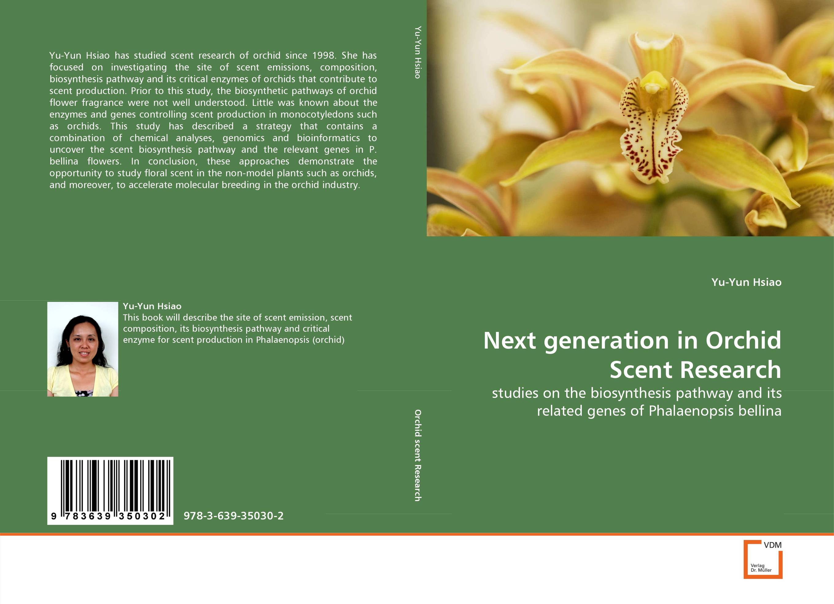 Next generation in Orchid Scent Research generation next