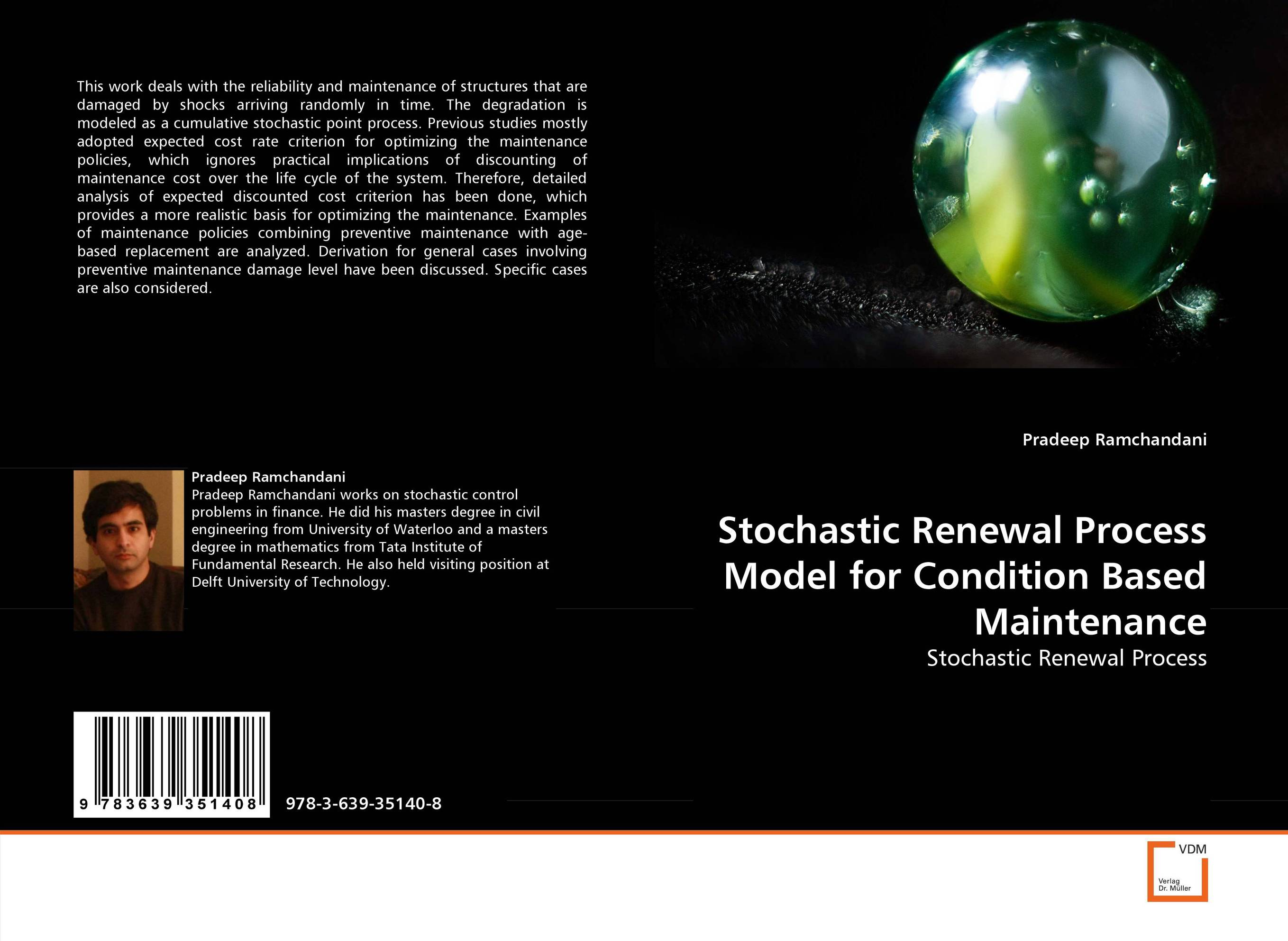 Stochastic Renewal Process Model for Condition Based Maintenance discounting