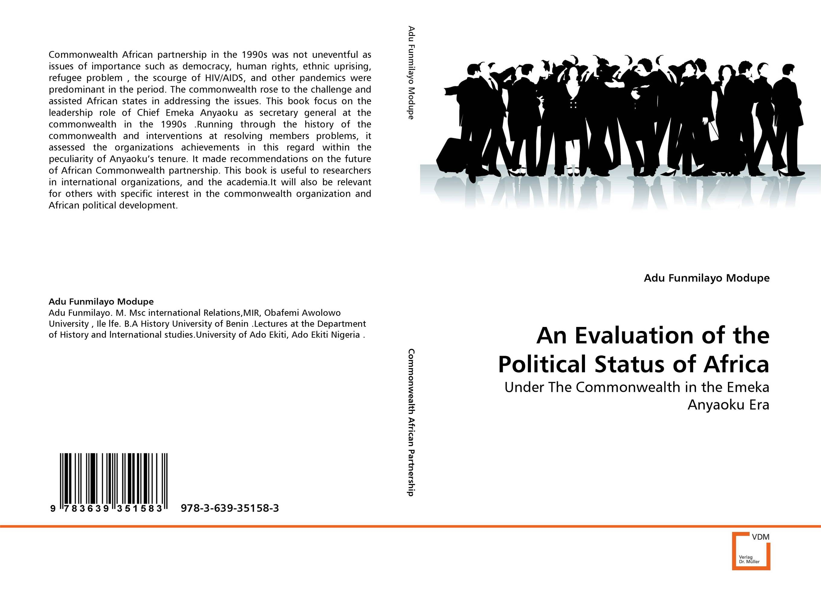 An Evaluation of the Political Status of Africa trans border ethnic hegemony and political conflict in africa