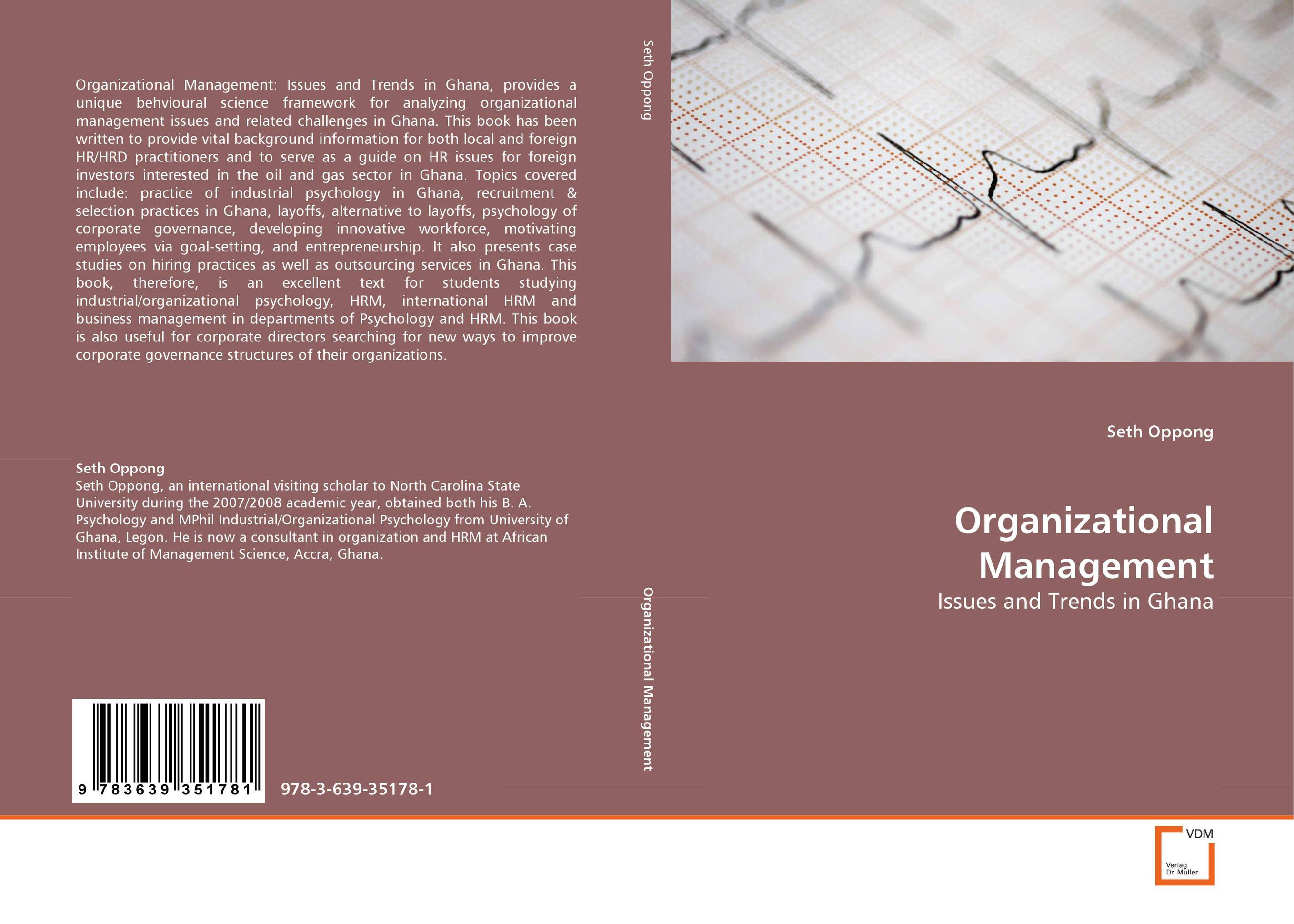 Organizational Management industrial and organizational psychology research and practice