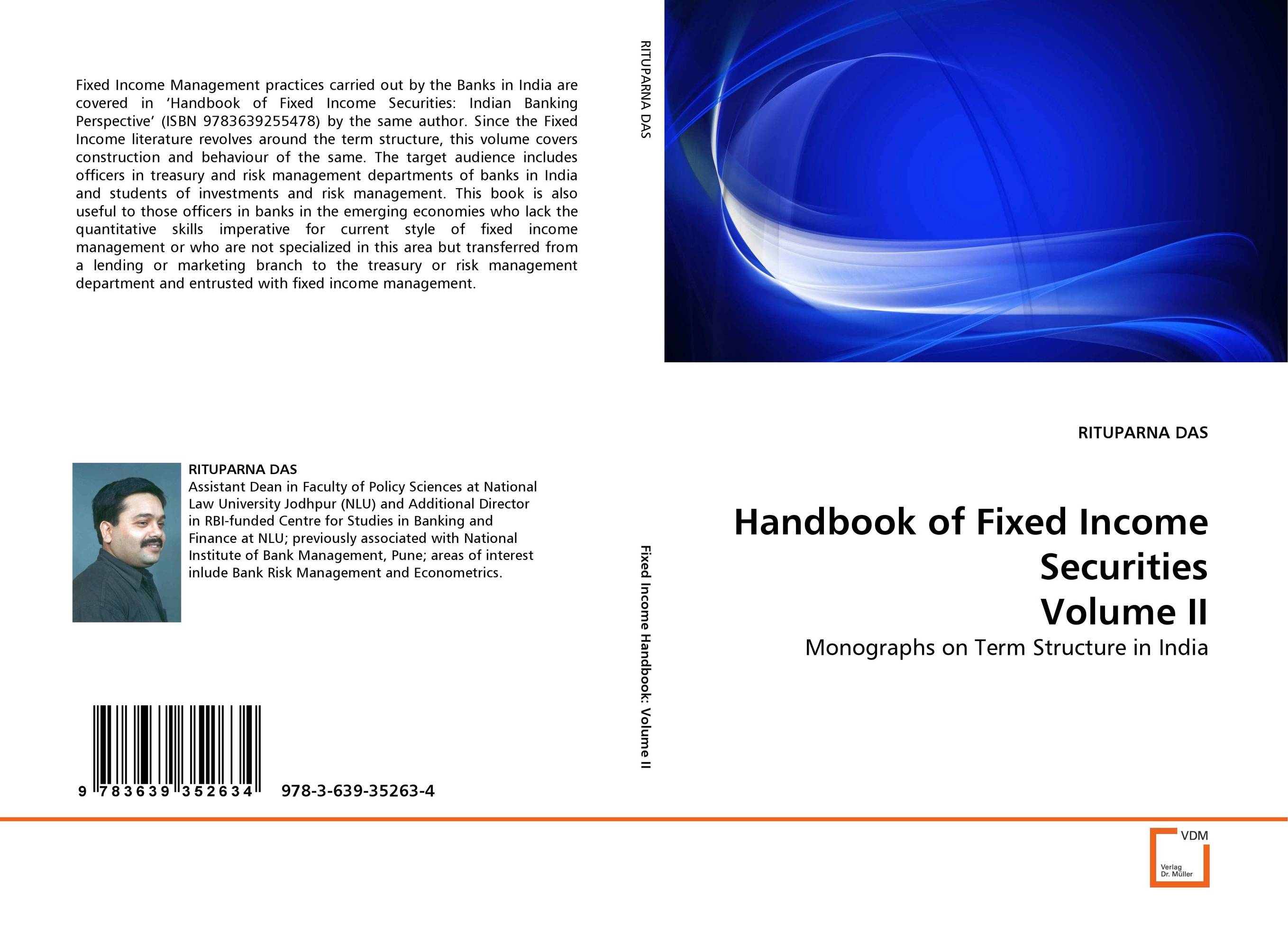Handbook of Fixed Income Securities Volume II christian szylar handbook of market risk