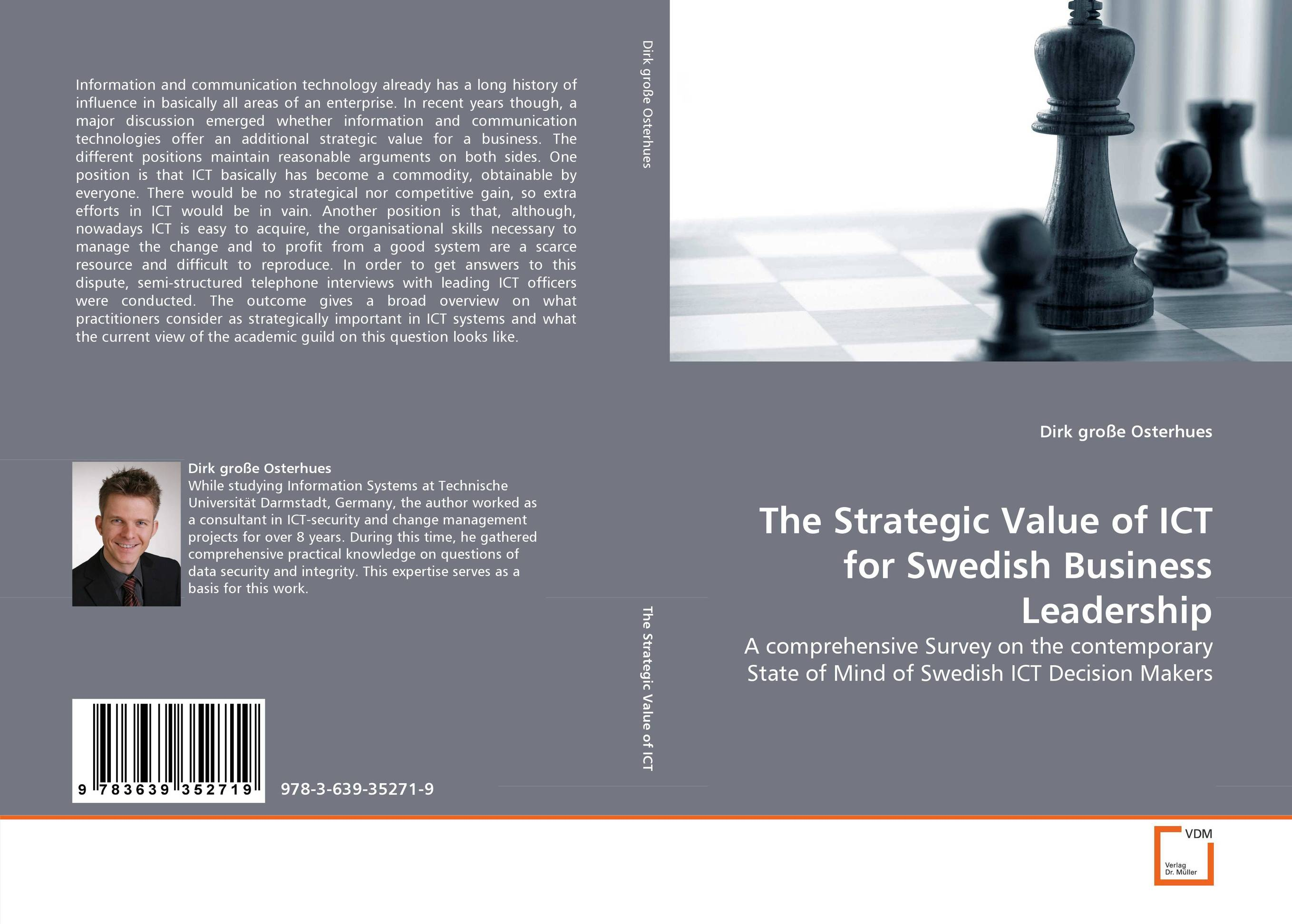 The Strategic Value of ICT for Swedish Business Leadership the strategic value of ict for swedish business leadership