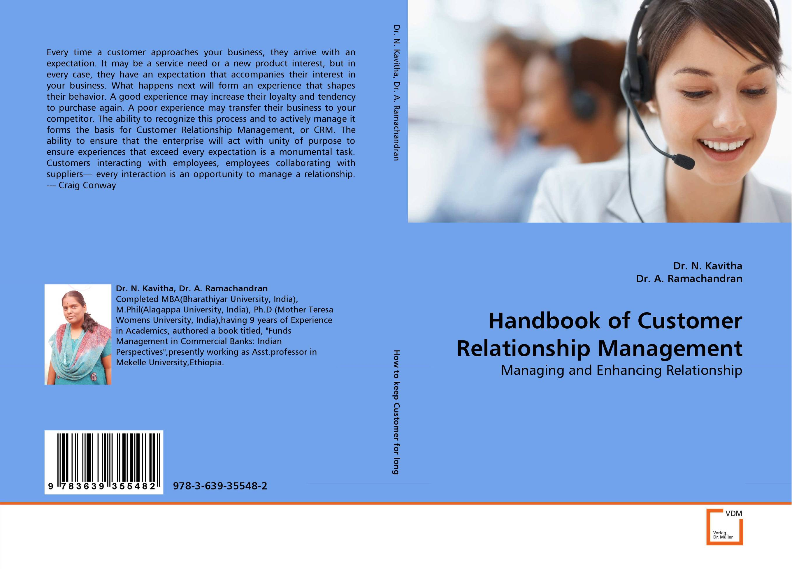 Handbook of Customer Relationship Management admin manage
