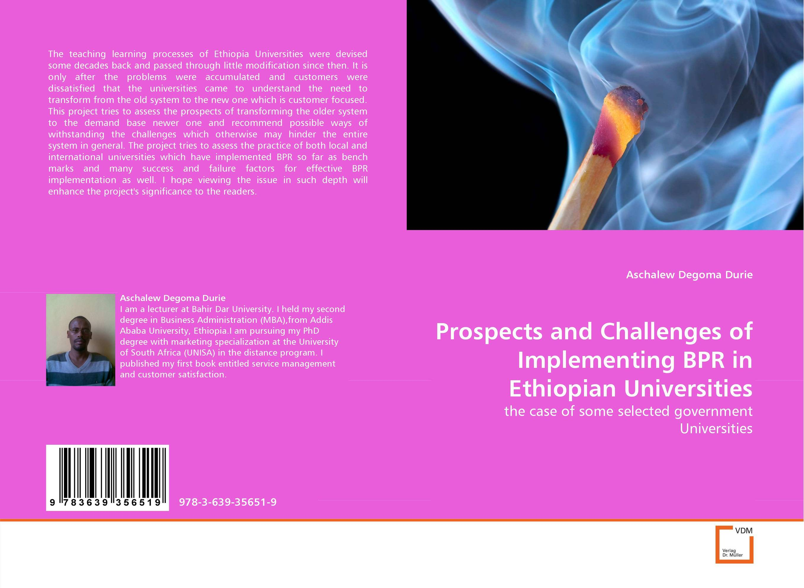 Prospects and Challenges of Implementing BPR in Ethiopian Universities emerging challenges in the implementation of the oprc hns protocol