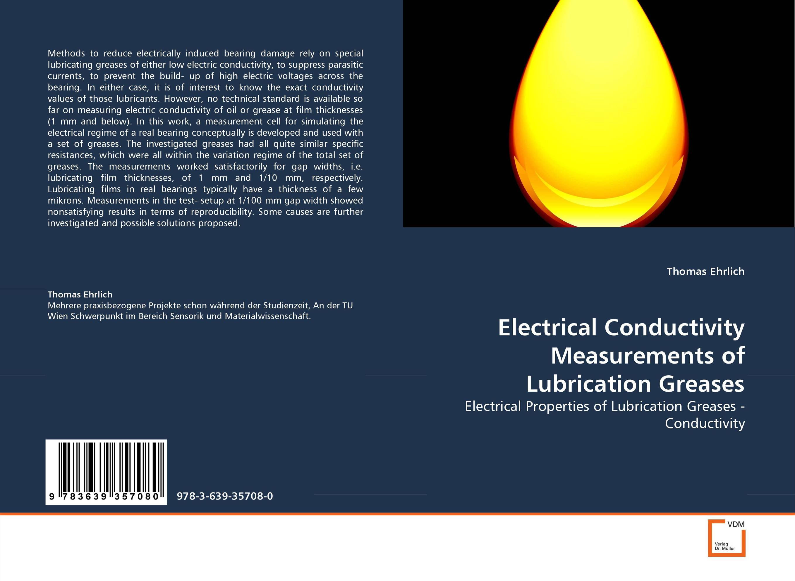 Electrical Conductivity Measurements of Lubrication Greases