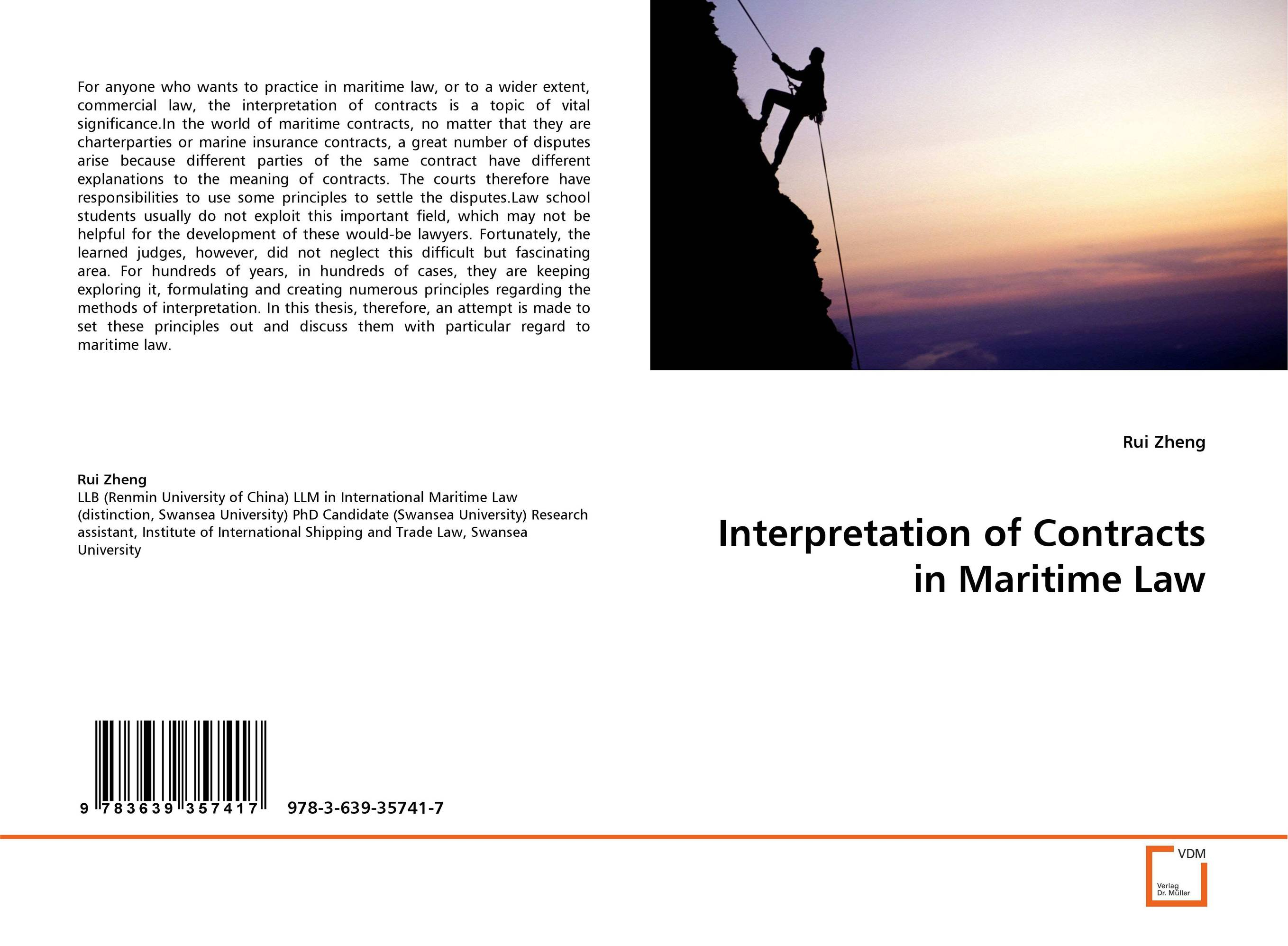 Interpretation of Contracts in Maritime Law