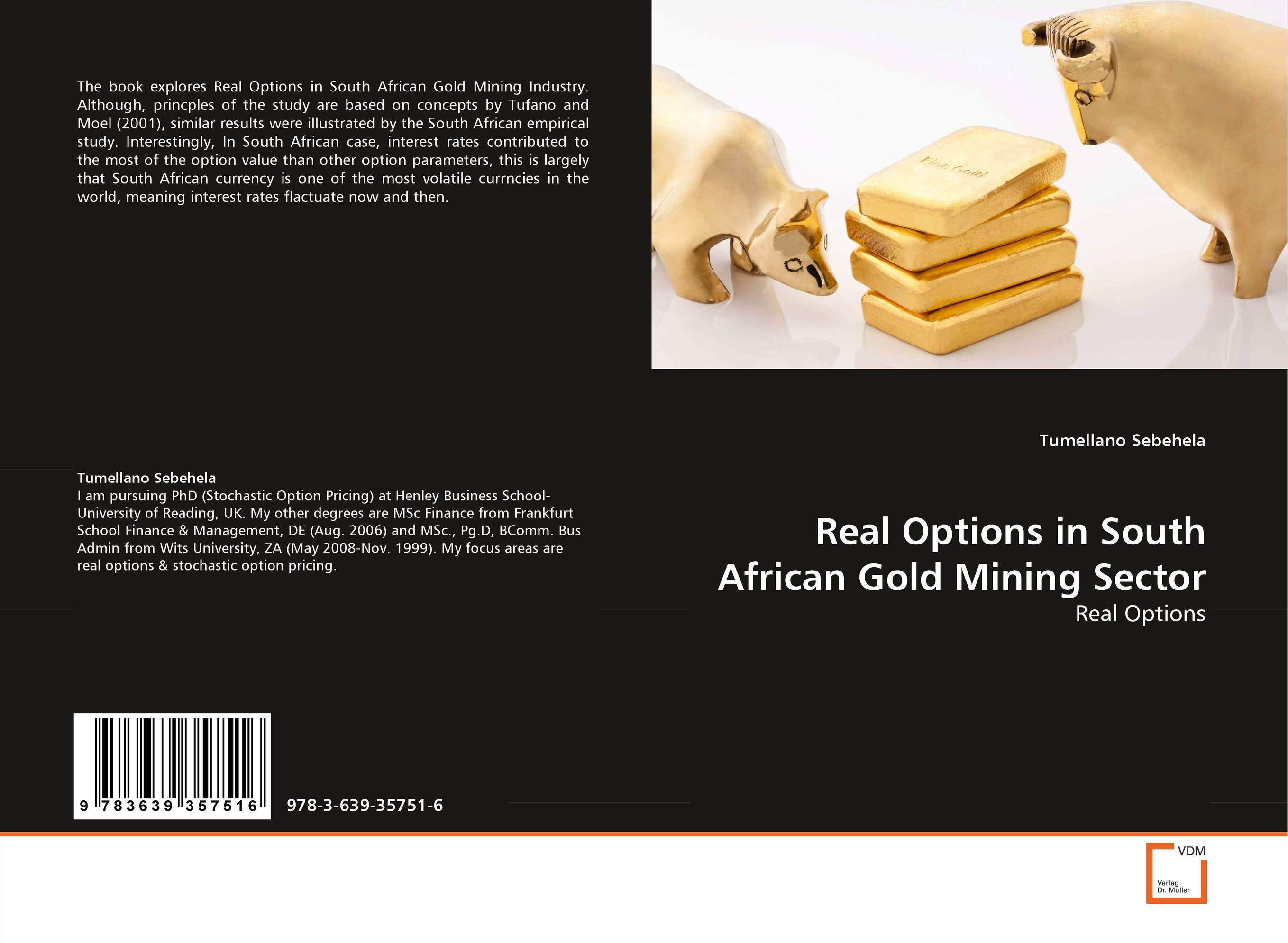 Real Options in South African Gold Mining Sector an ethical and legal analysis of south african medical schemes