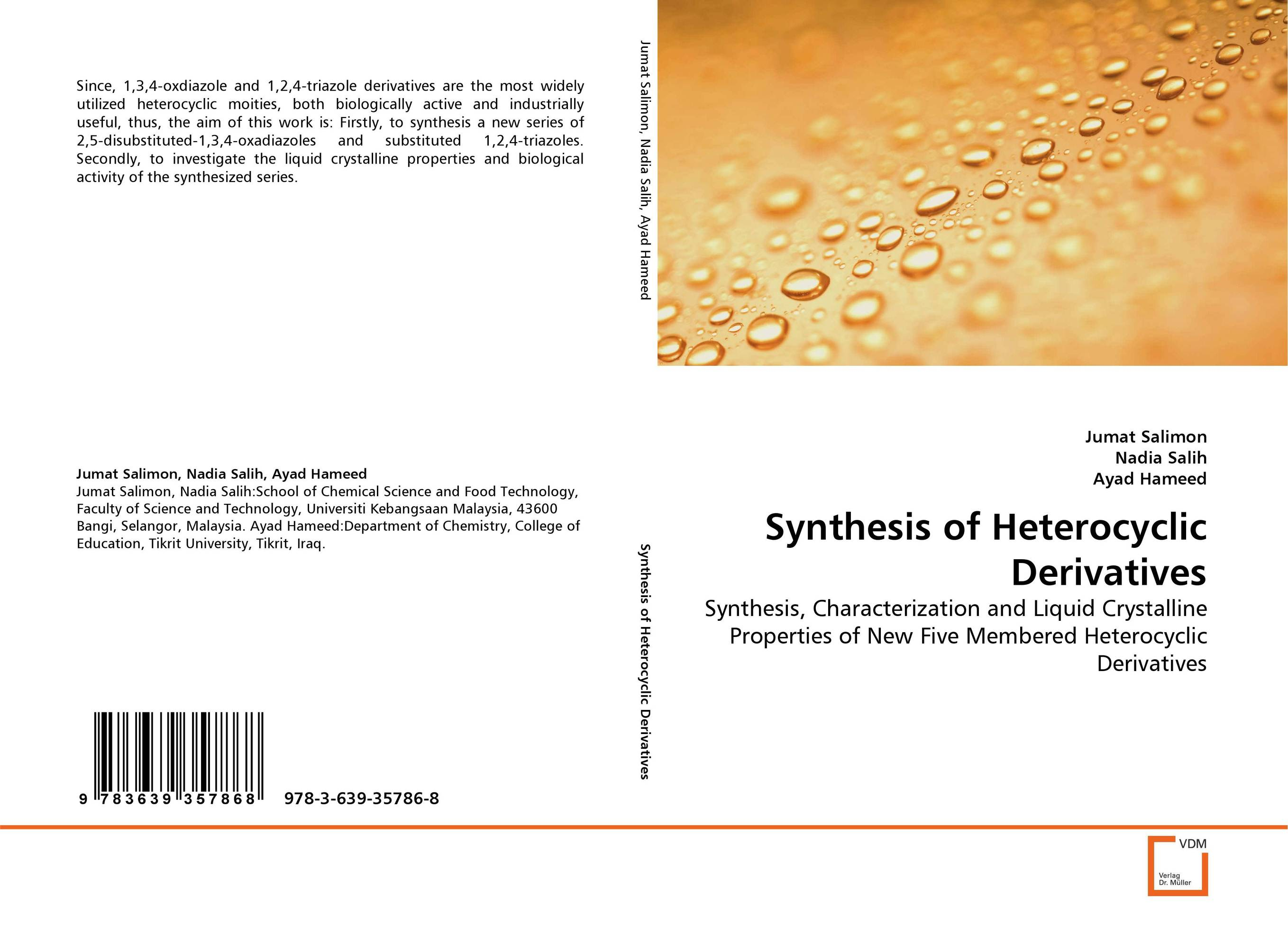 Synthesis  of Heterocyclic Derivatives synthesis and reactions of some new s triazole derivatives