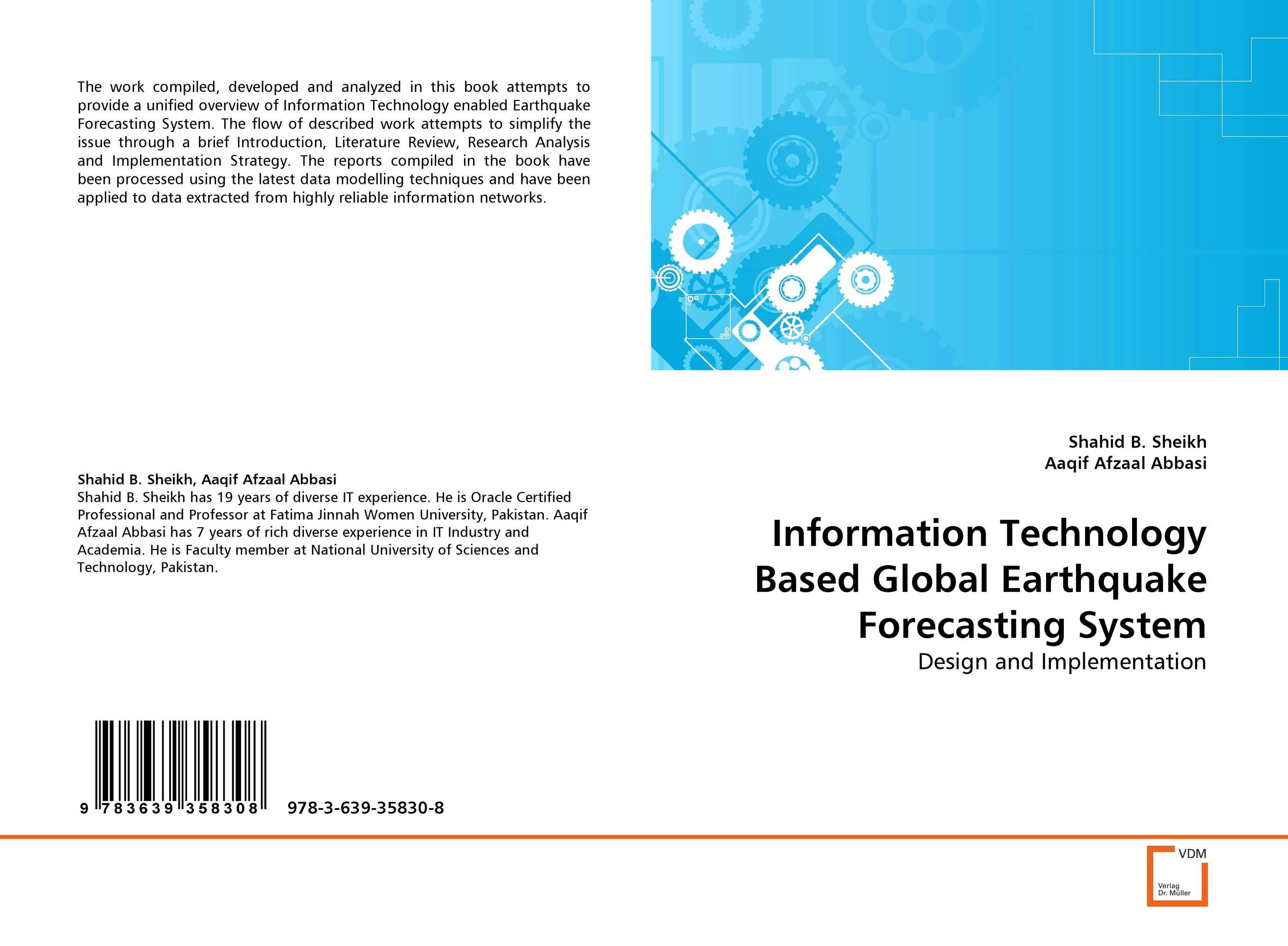 Information Technology Based Global Earthquake Forecasting System timothy jury cash flow analysis and forecasting the definitive guide to understanding and using published cash flow data