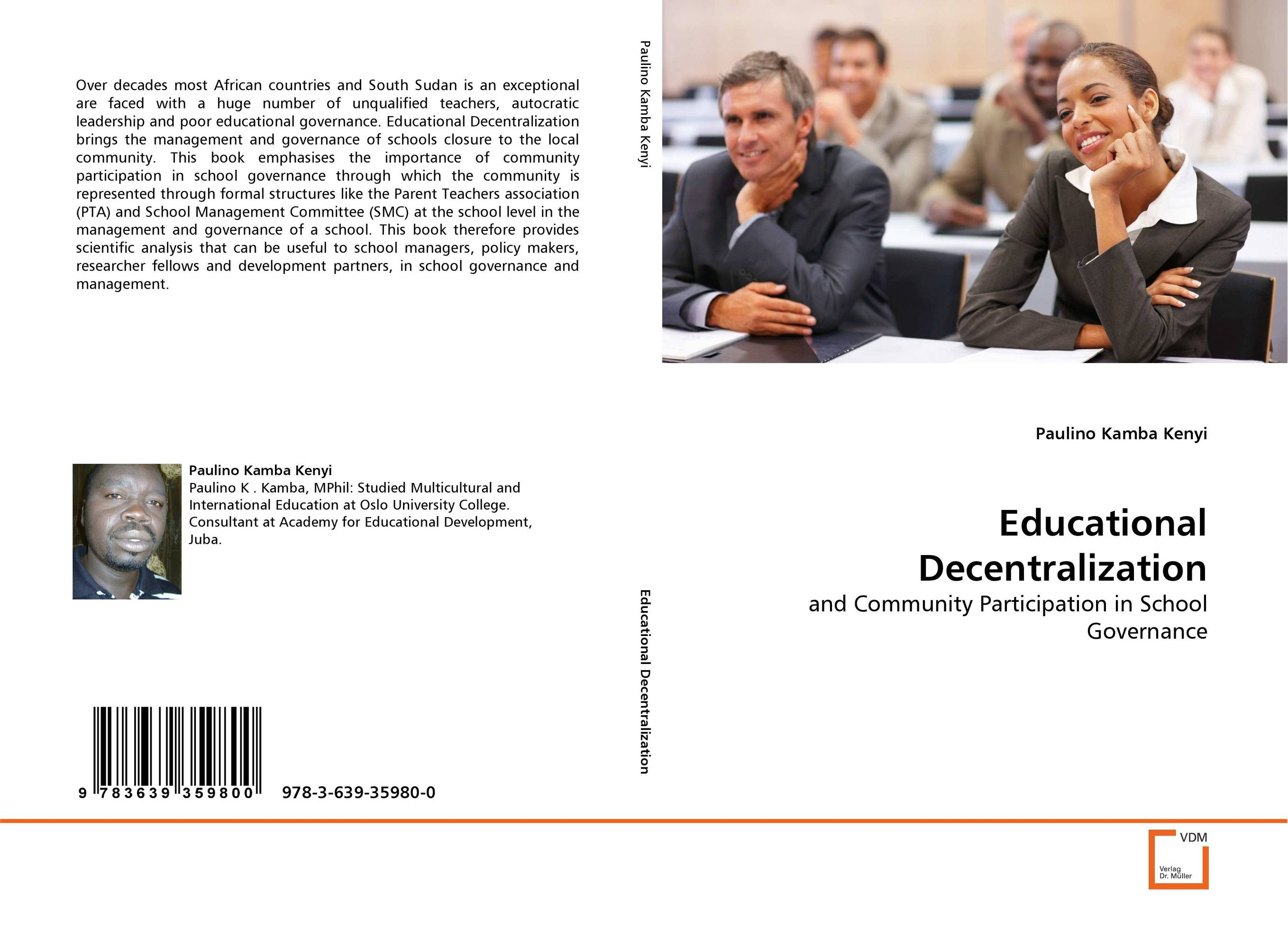 Educational Decentralization jeffrey sonnenfeld leadership and governance from the inside out