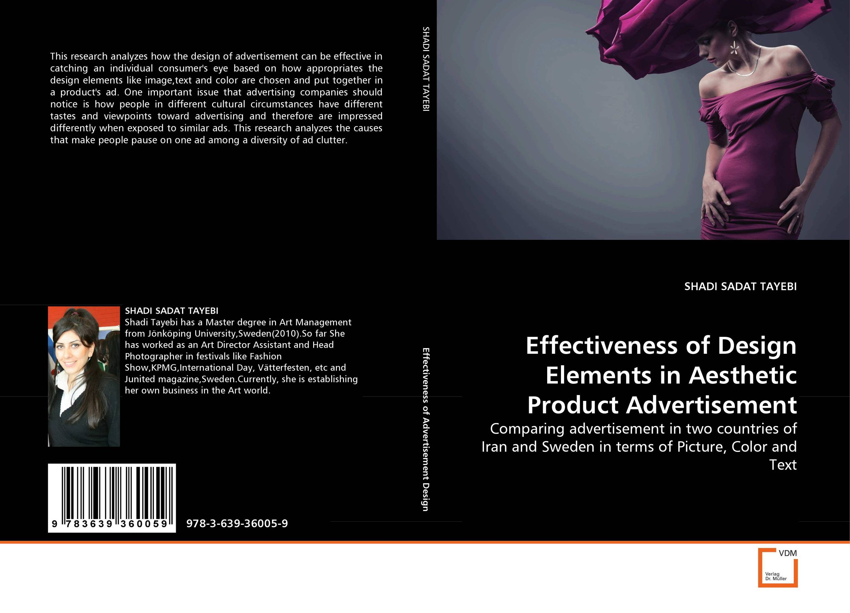 Effectiveness of Design Elements in Aesthetic Product Advertisement