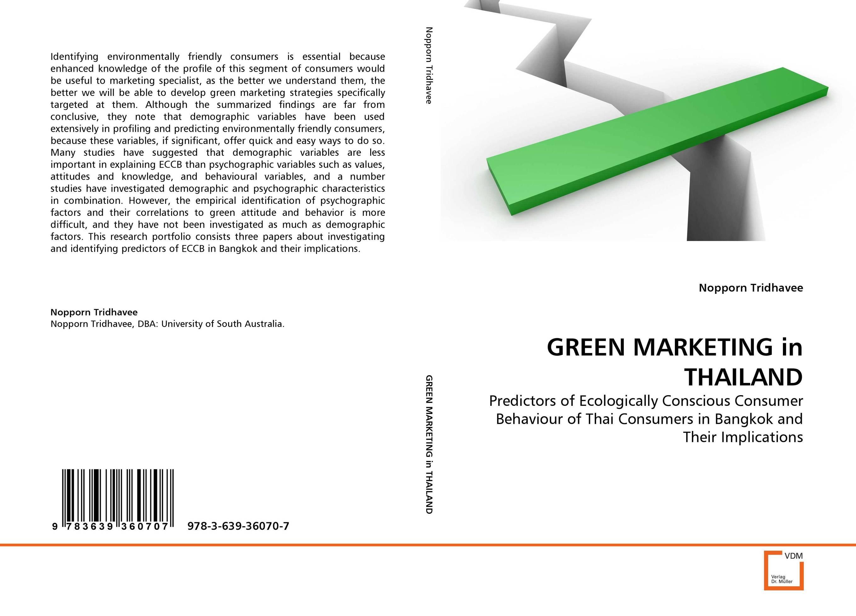 GREEN MARKETING in THAILAND