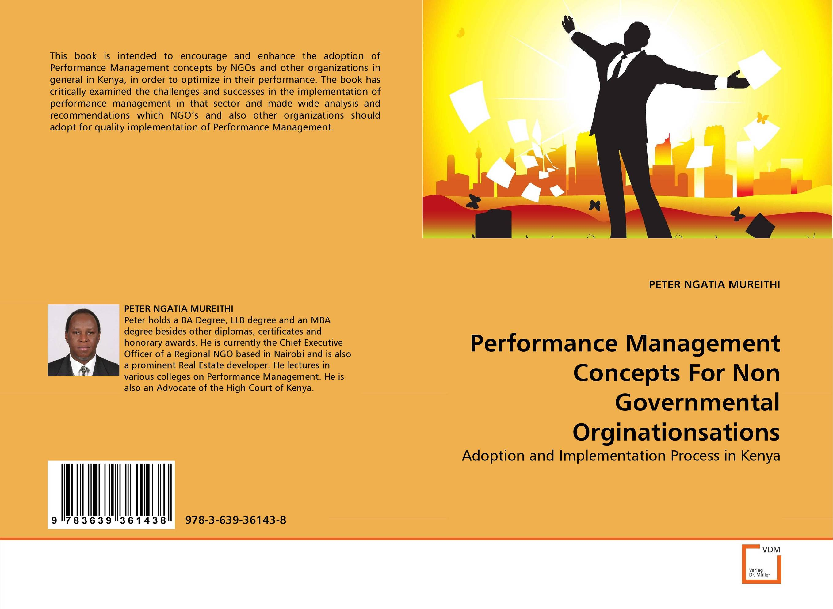 Performance Management Concepts For Non Governmental Orginationsations