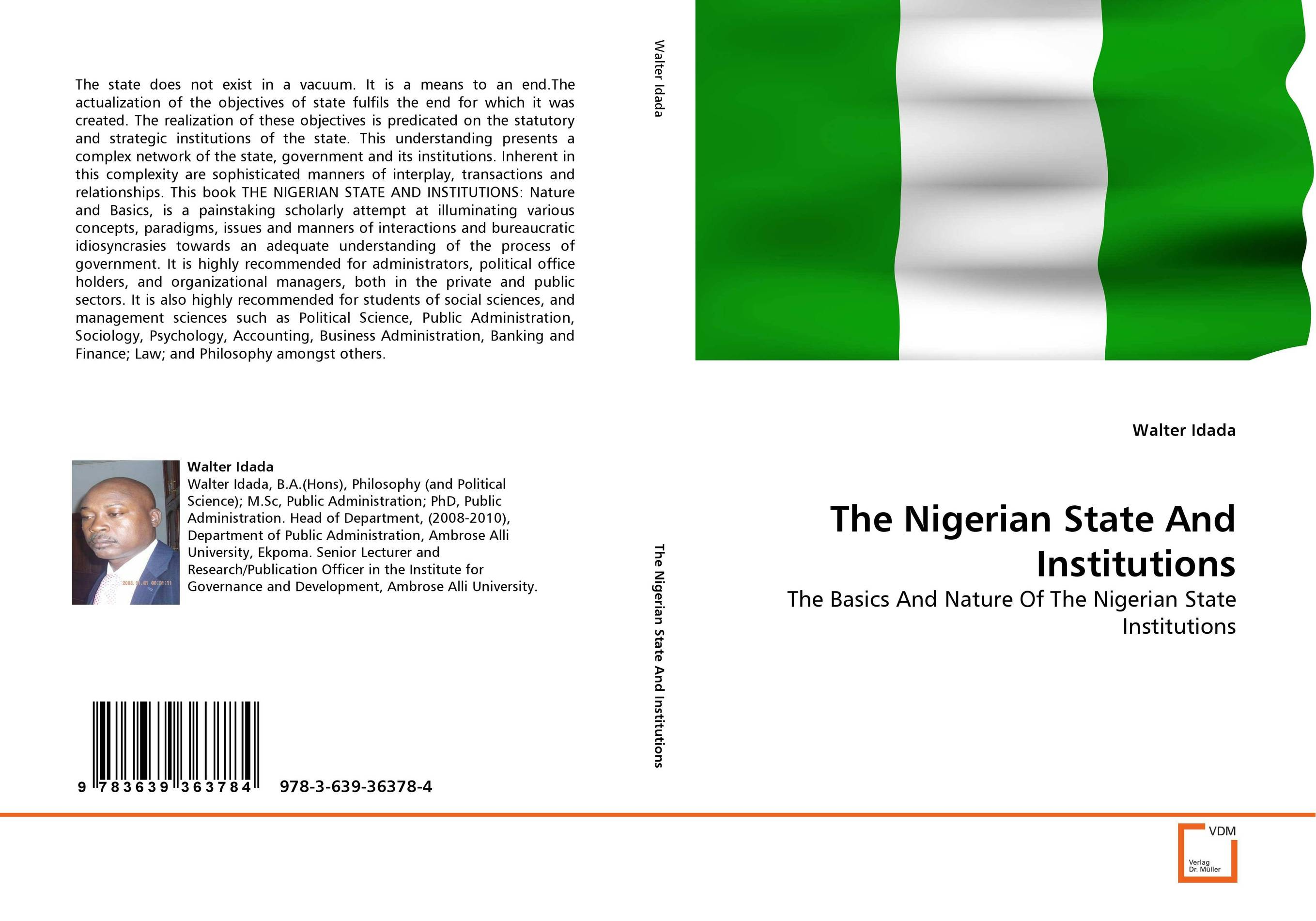 The Nigerian State And Institutions affair of state an