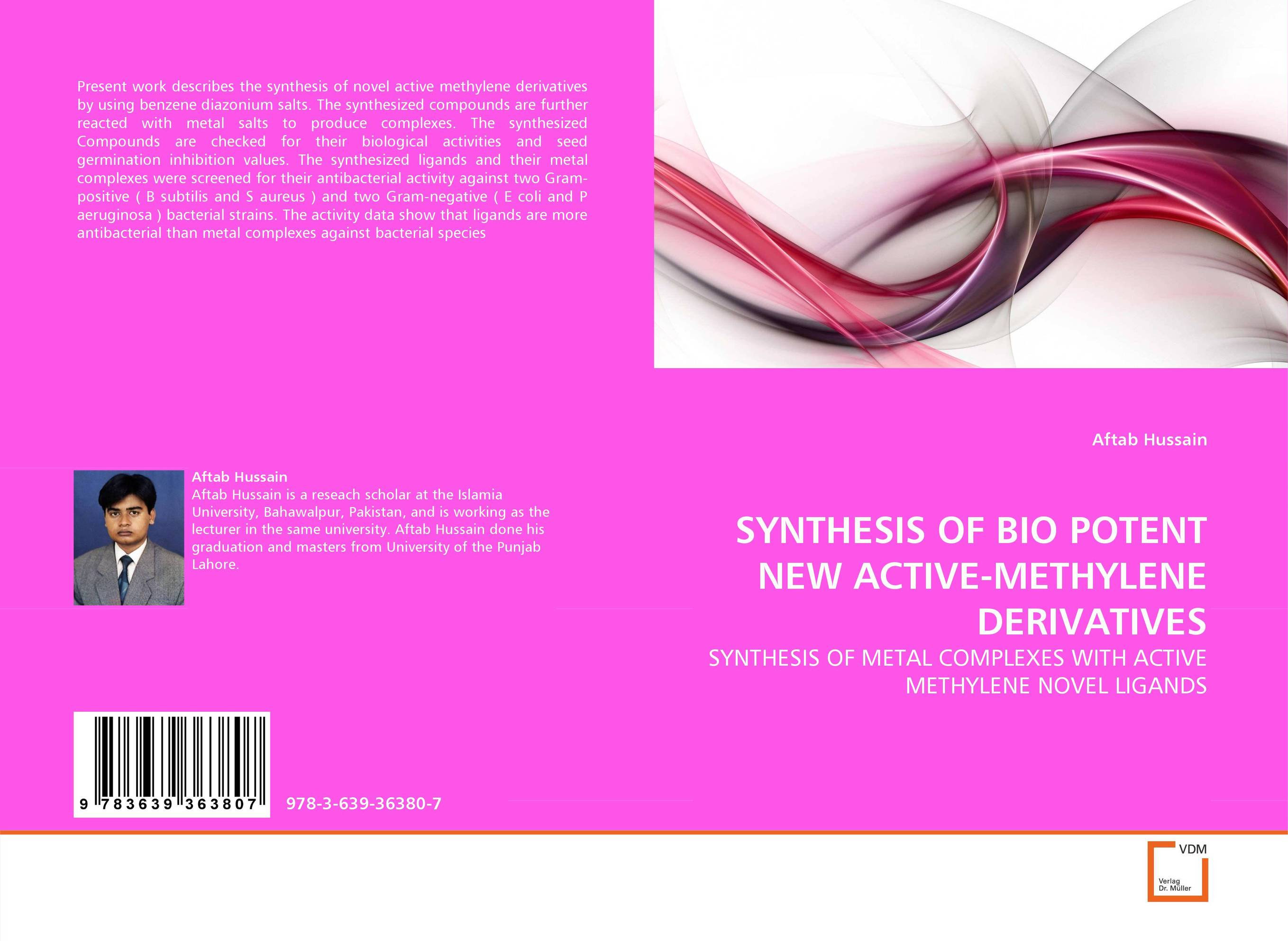SYNTHESIS OF BIO POTENT NEW ACTIVE-METHYLENE DERIVATIVES купить