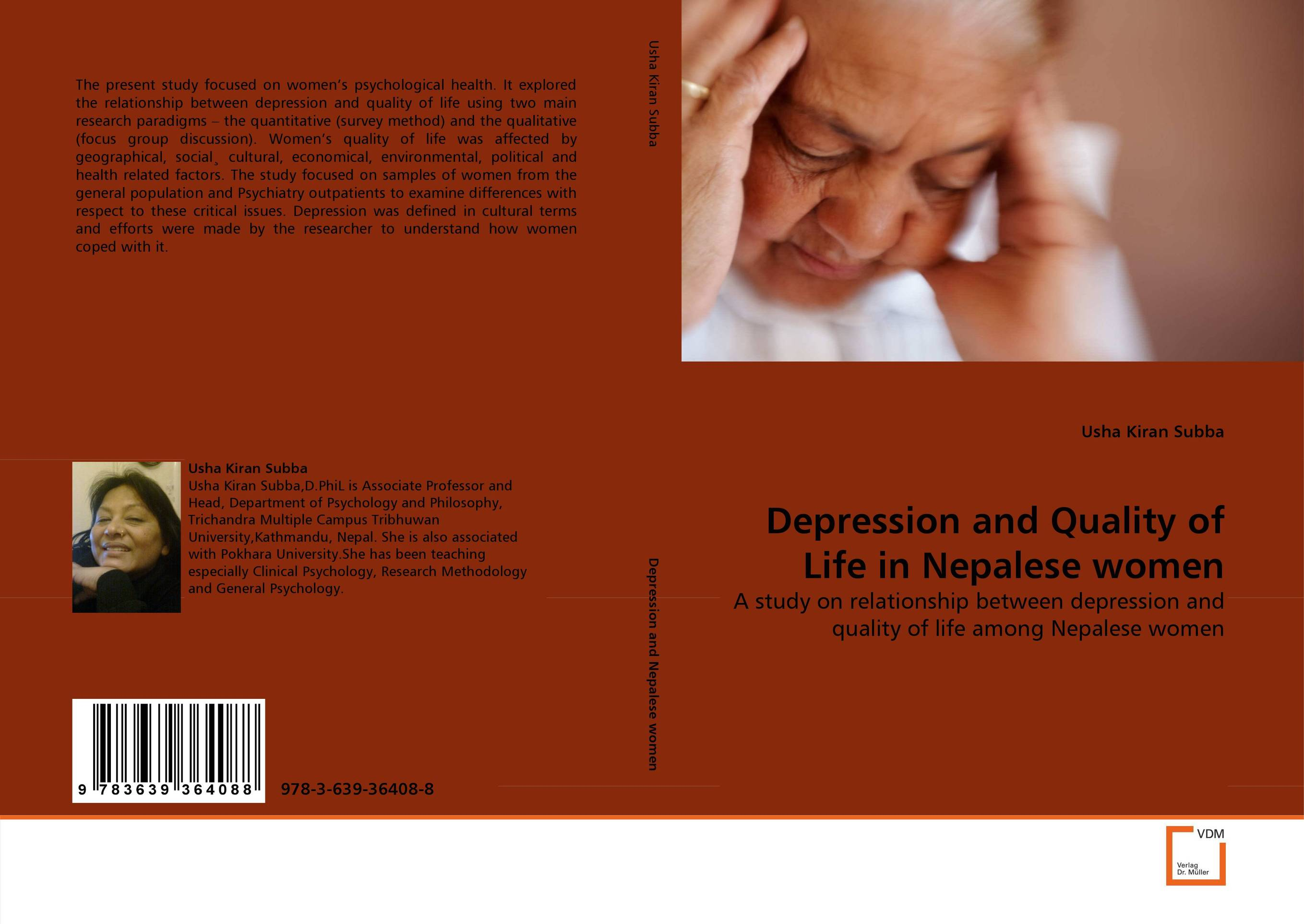 Depression and Quality of Life in Nepalese women