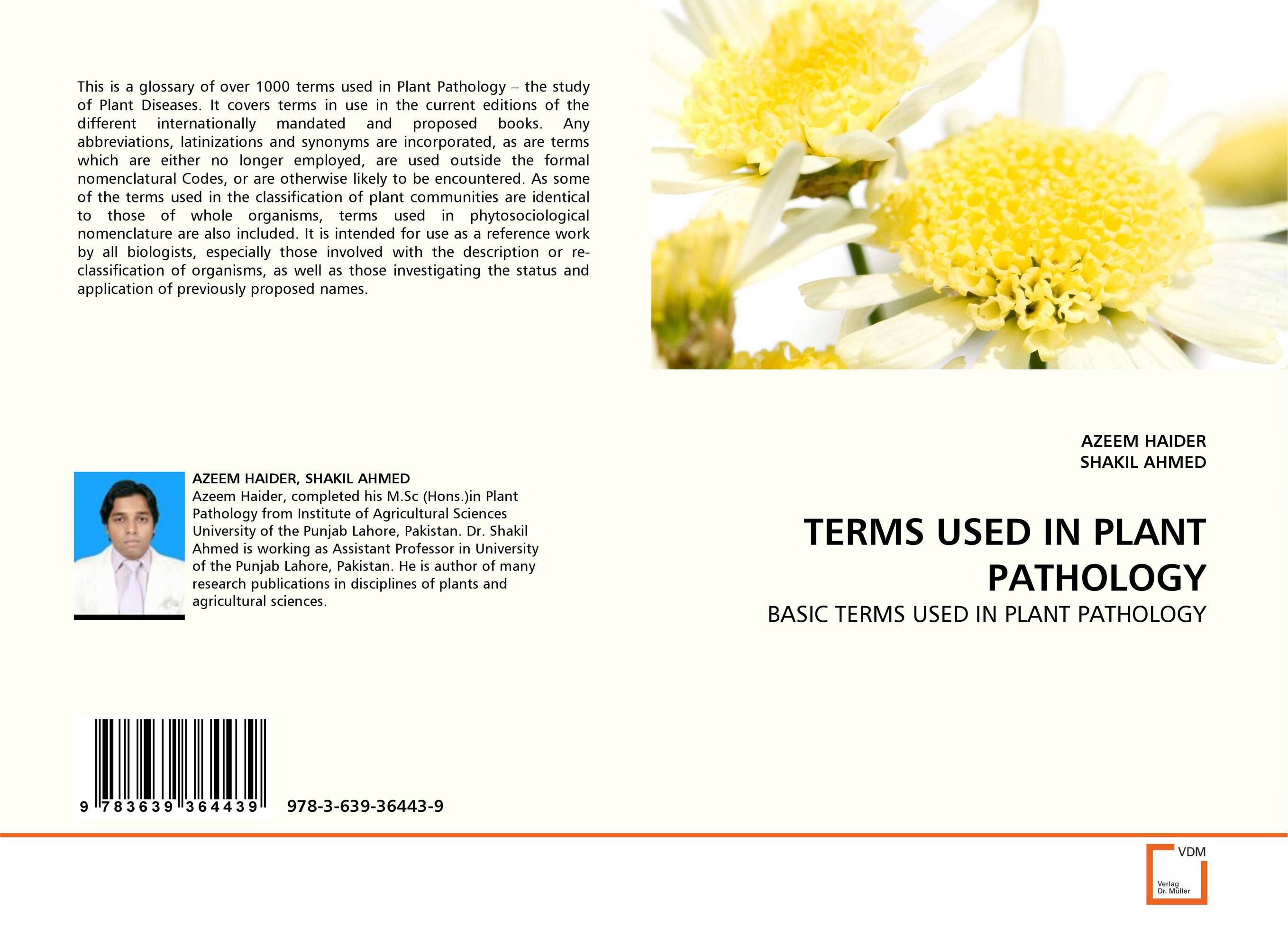 TERMS USED IN PLANT PATHOLOGY the use of preposition sense in semantic argument classification