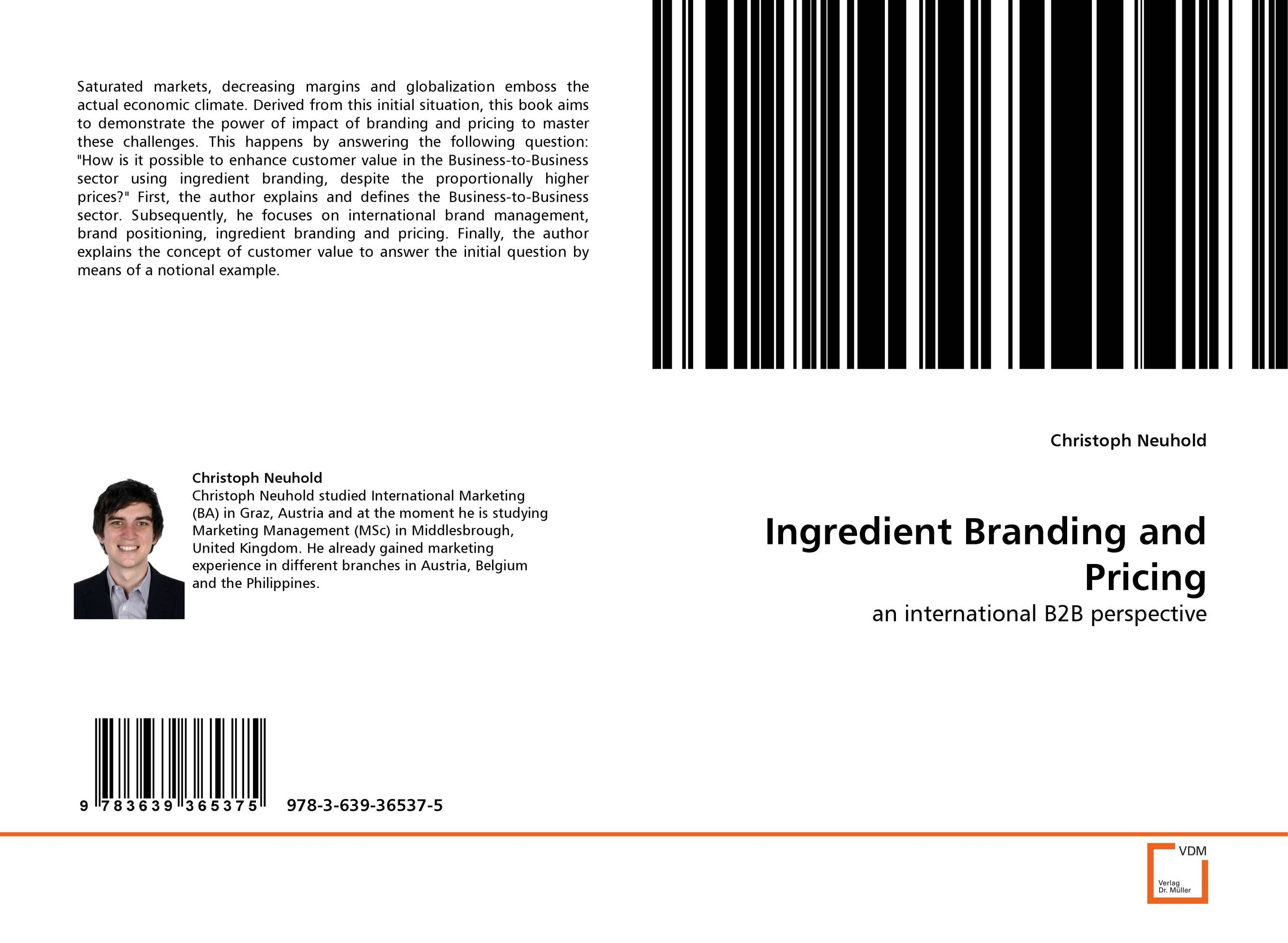 Ingredient Branding and Pricing