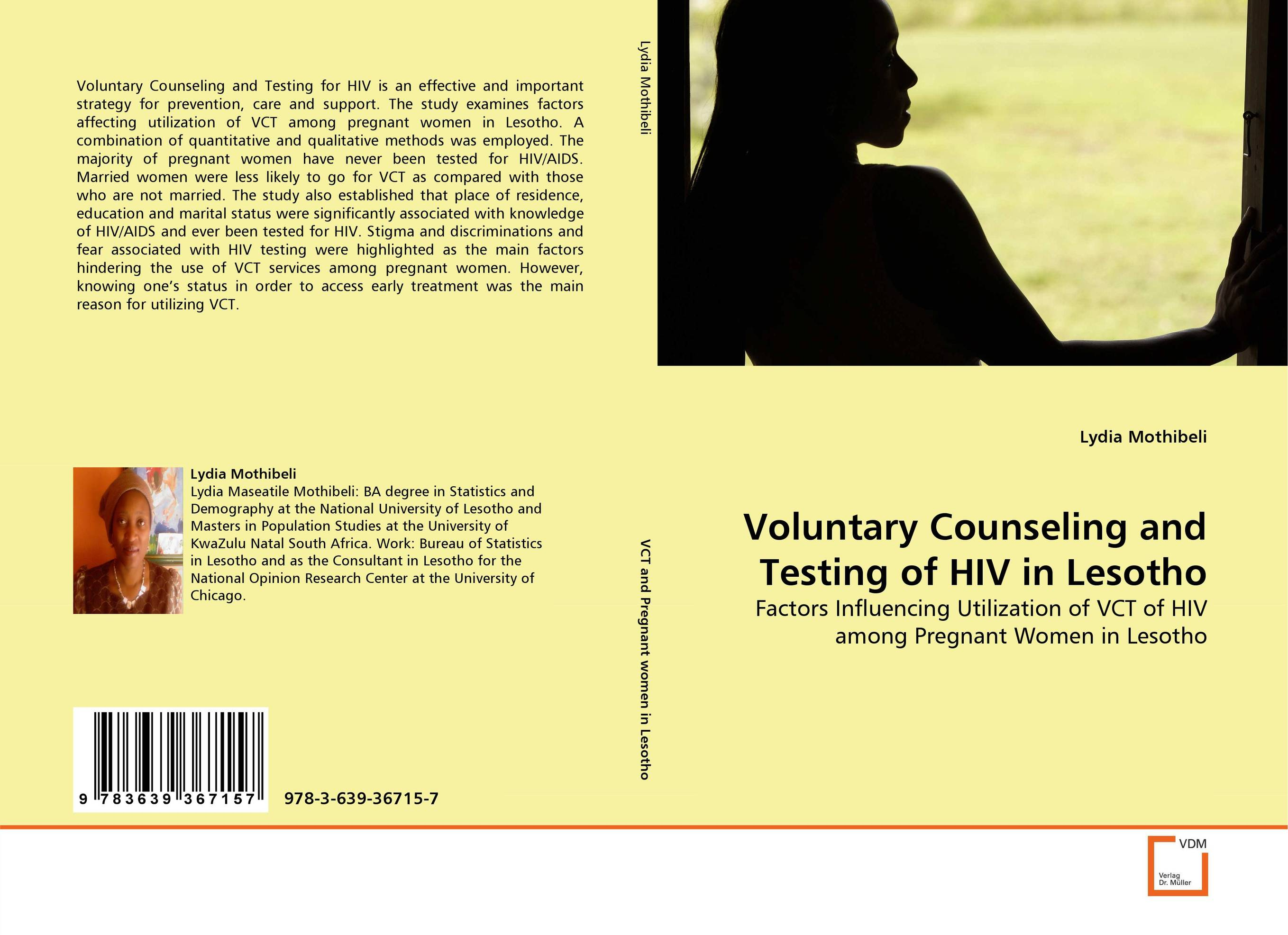 Voluntary Counseling and Testing of HIV in Lesotho hiv prevalence in senegal associated with the sugar daddy phenomenon