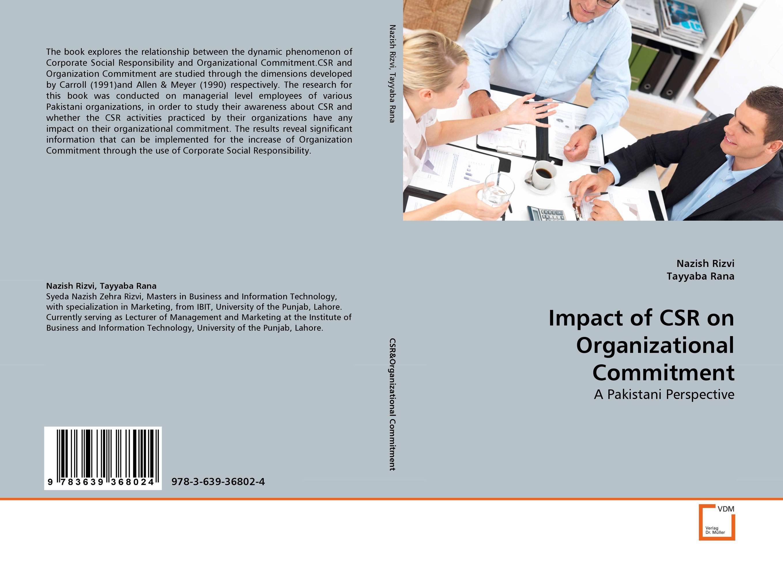 Фото Impact of CSR on Organizational Commitment corporate social responsibility