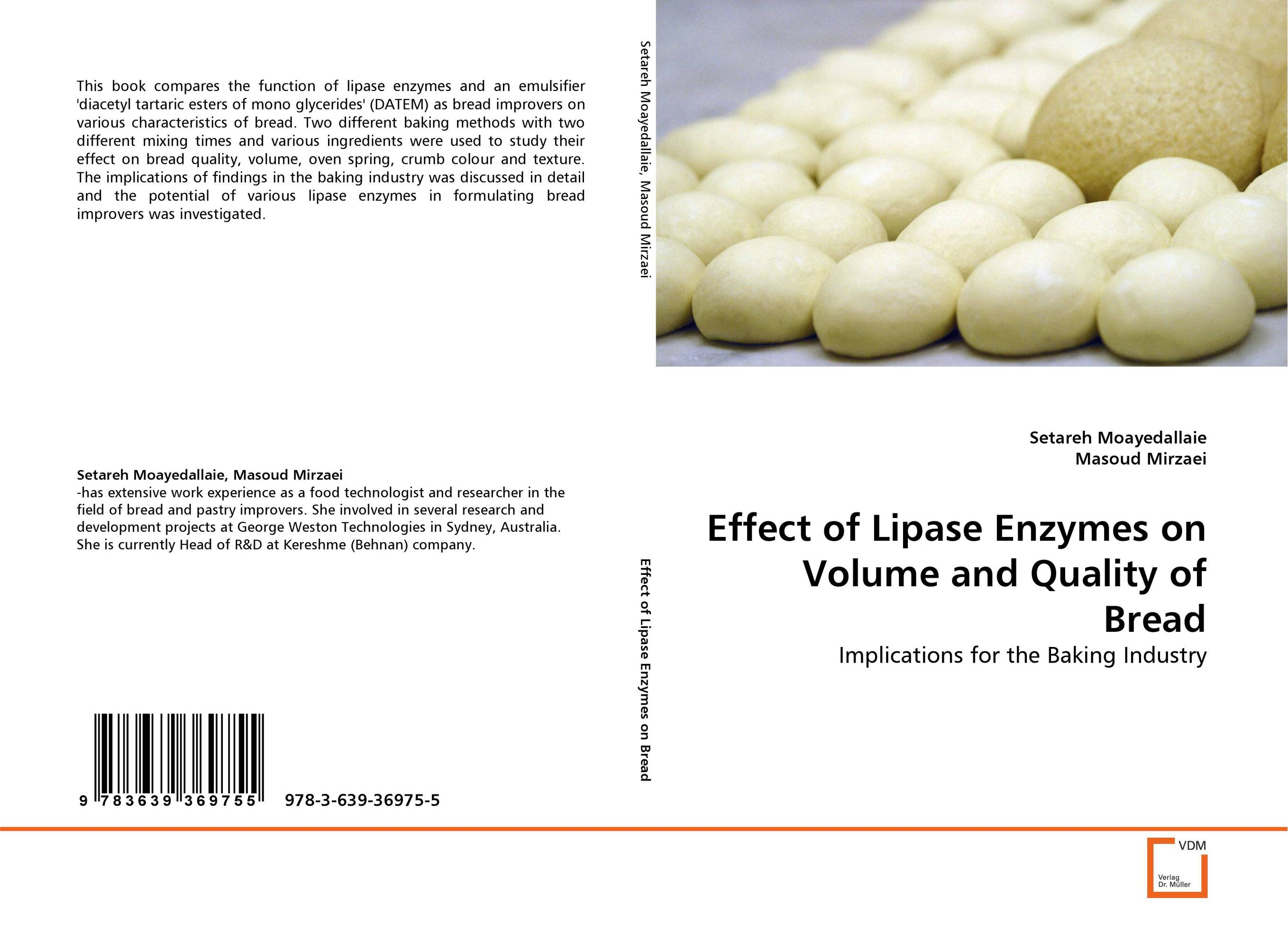 Effect of Lipase Enzymes on Volume and Quality of Bread baking school the bread ahead cookbook