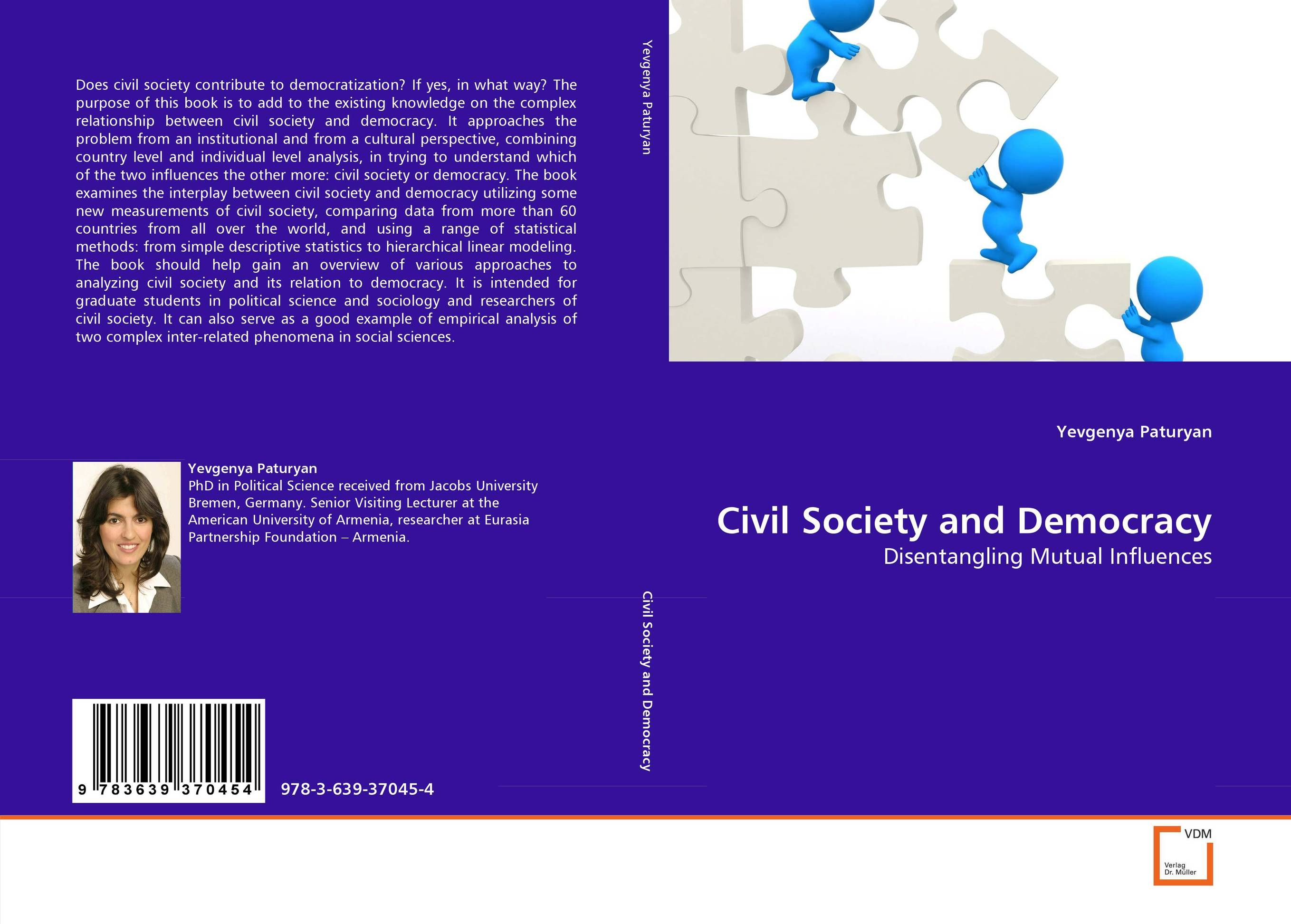 Civil Society and Democracy democracy in america nce